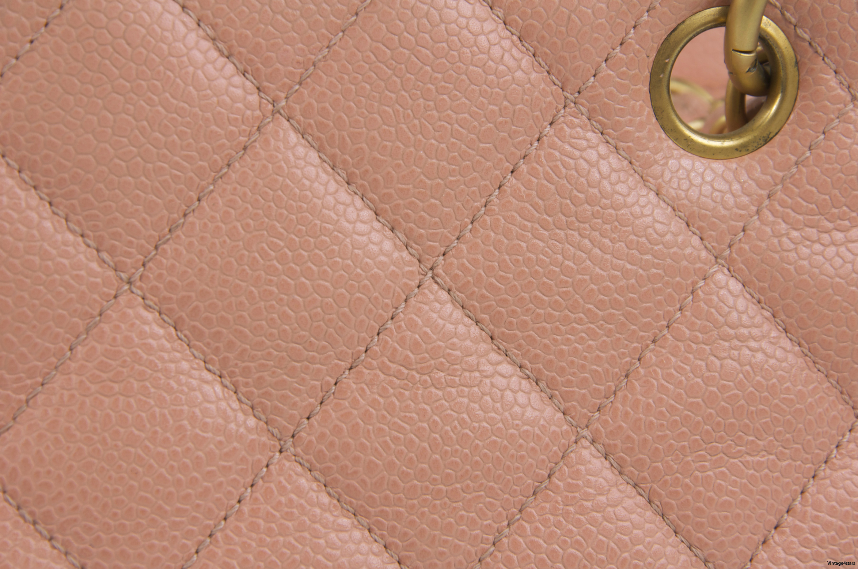 CHANEL Timeless Caviar Pink 818