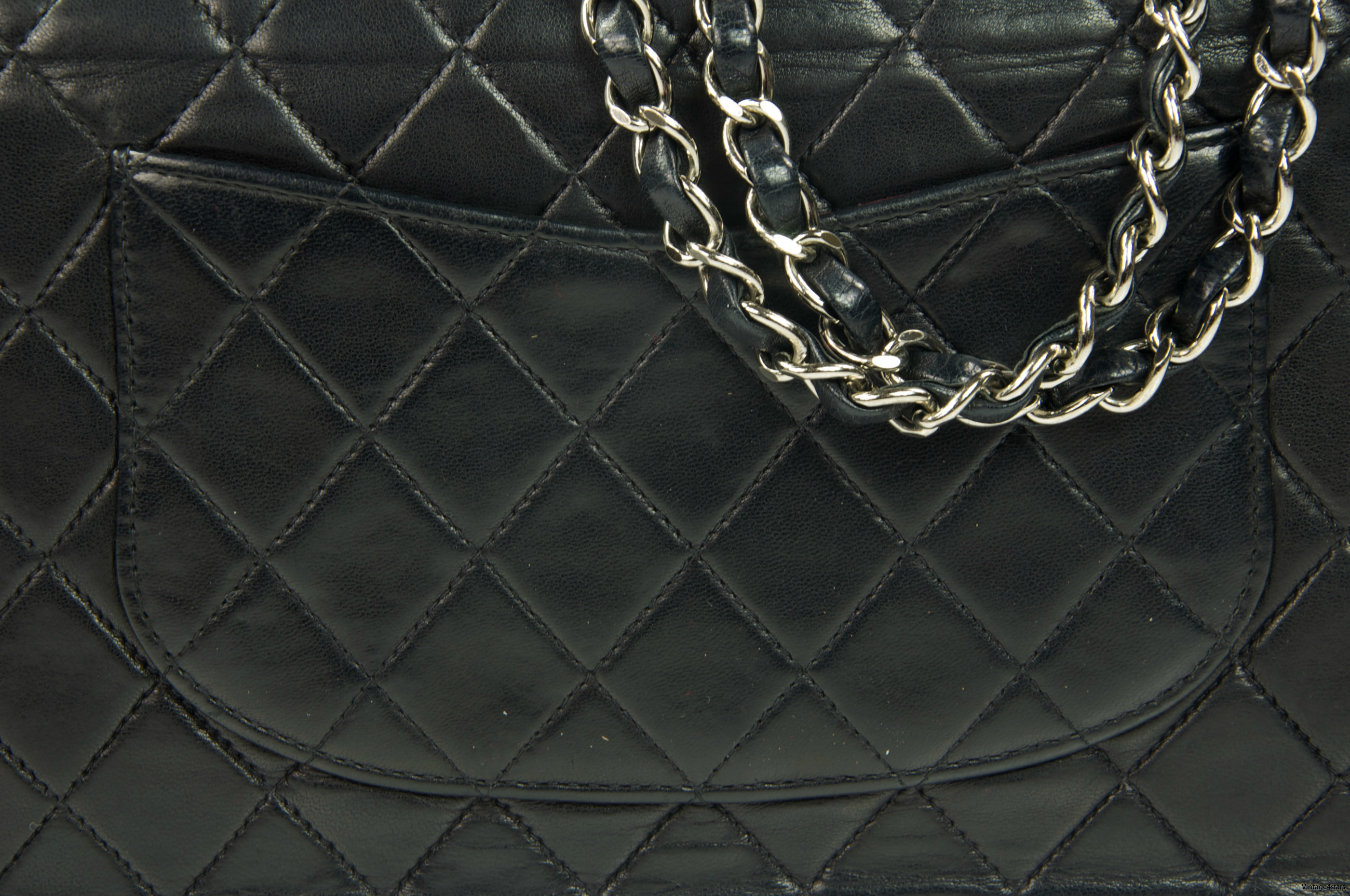 CHANEL Double Flap SHW 004