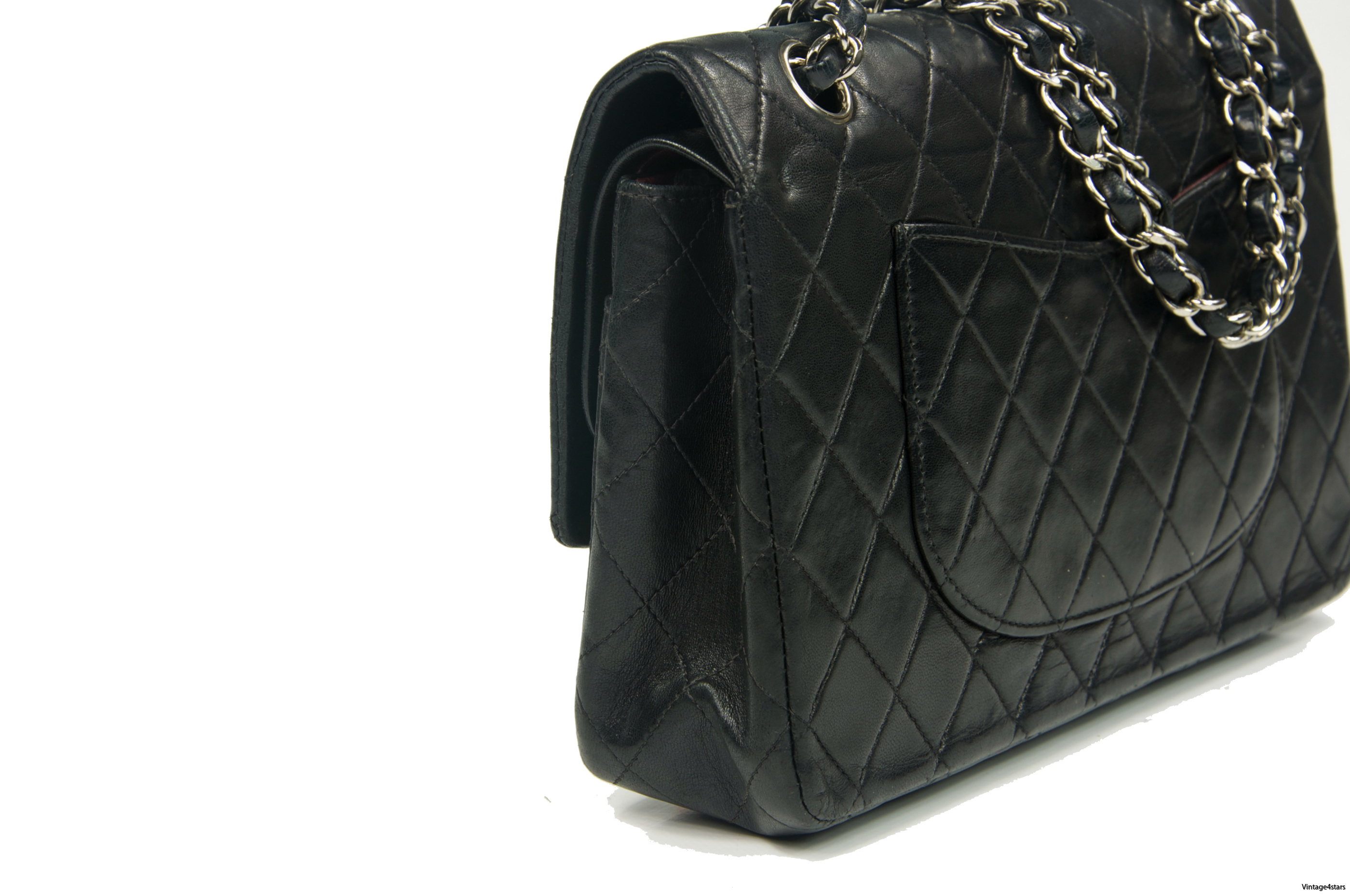 CHANEL Double Flap SHW 006