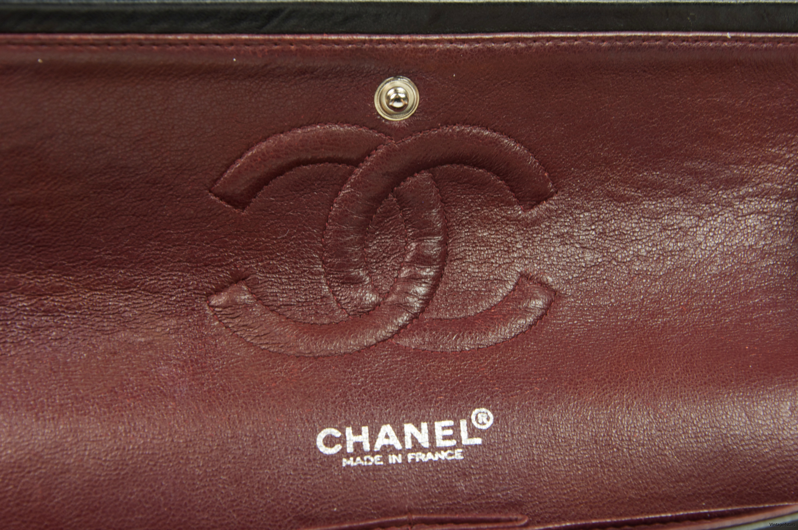 CHANEL Double Flap SHW 017