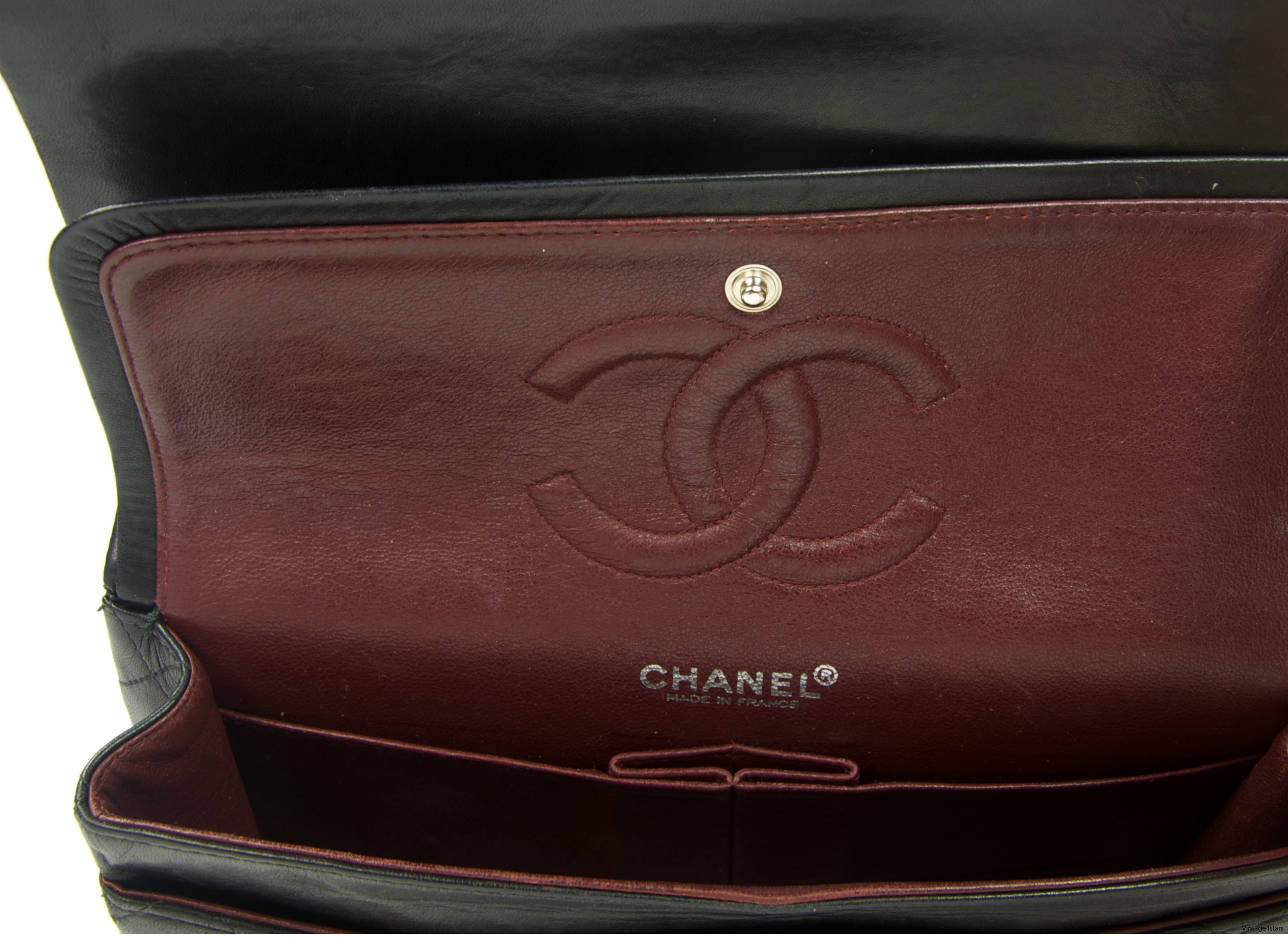 CHANEL Double Flap SHW 024