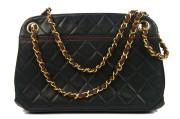 Chanel Quilted Shoulder Bag Kisslock