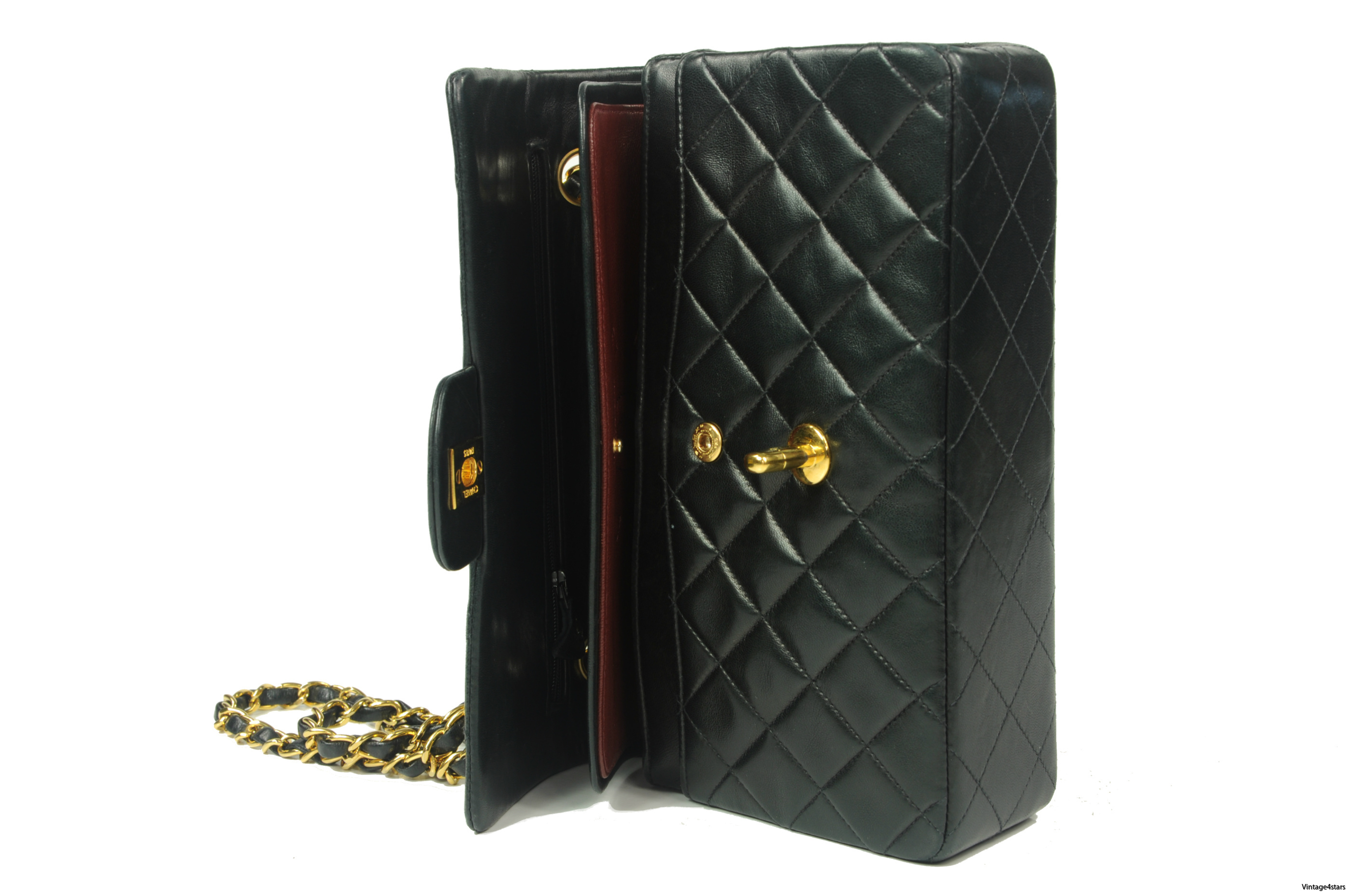 CHANEL Double Flap 222