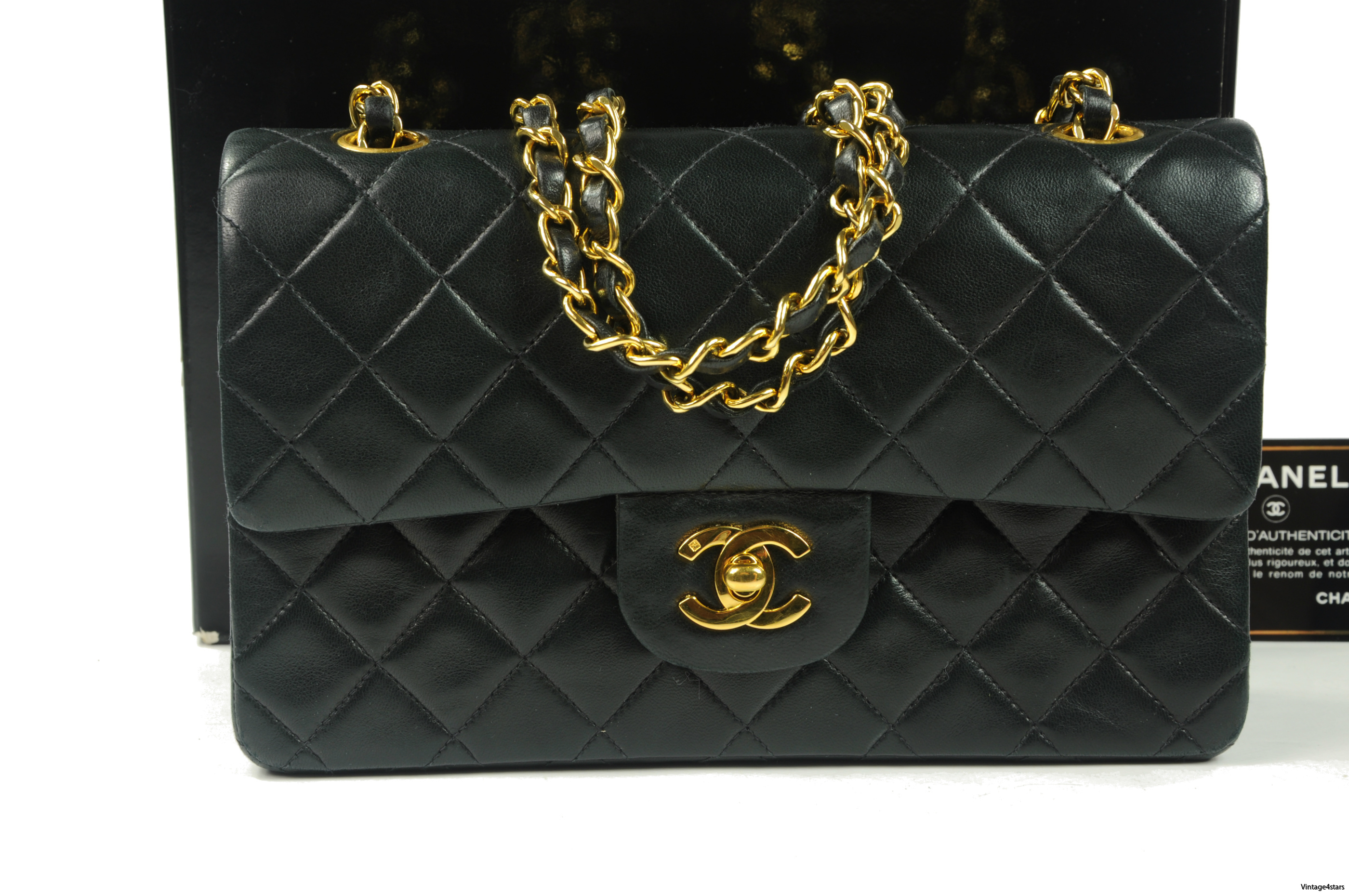 CHANEL Double Flap 300a