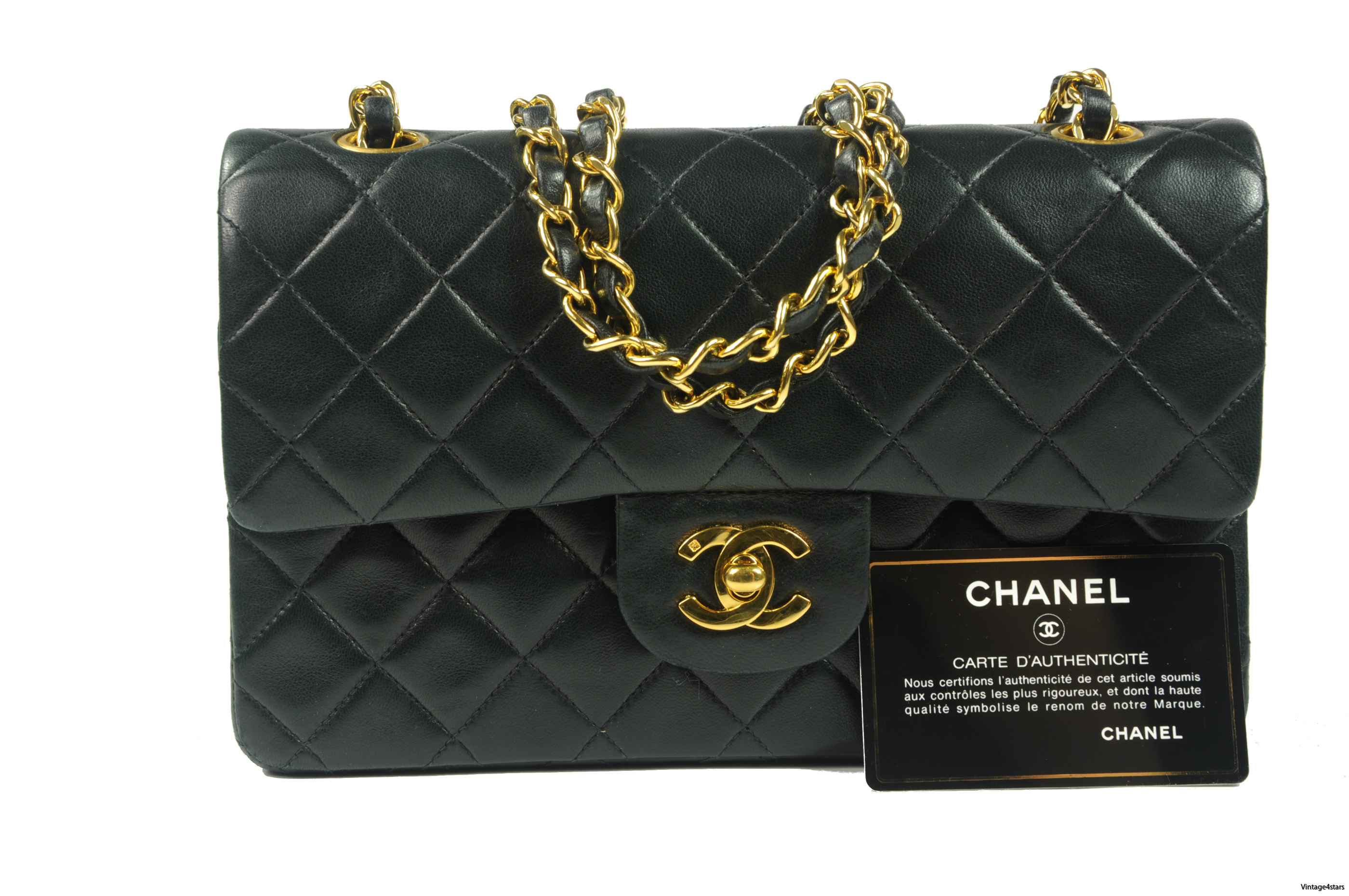 CHANEL Double Flap 303a