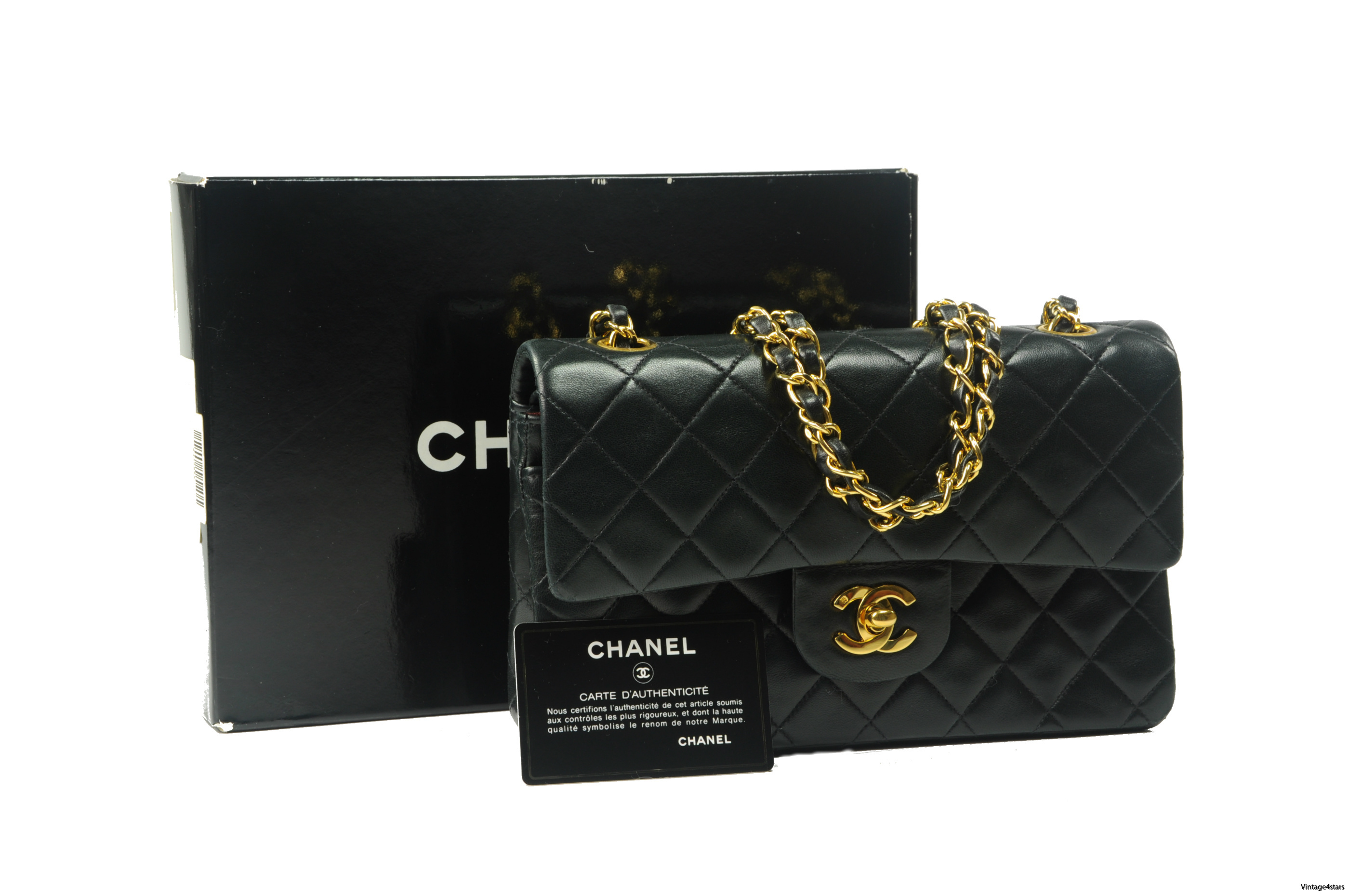 CHANEL Double Flap 306a
