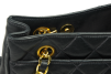 CHANEL Quilted Lambskin Medium Tote