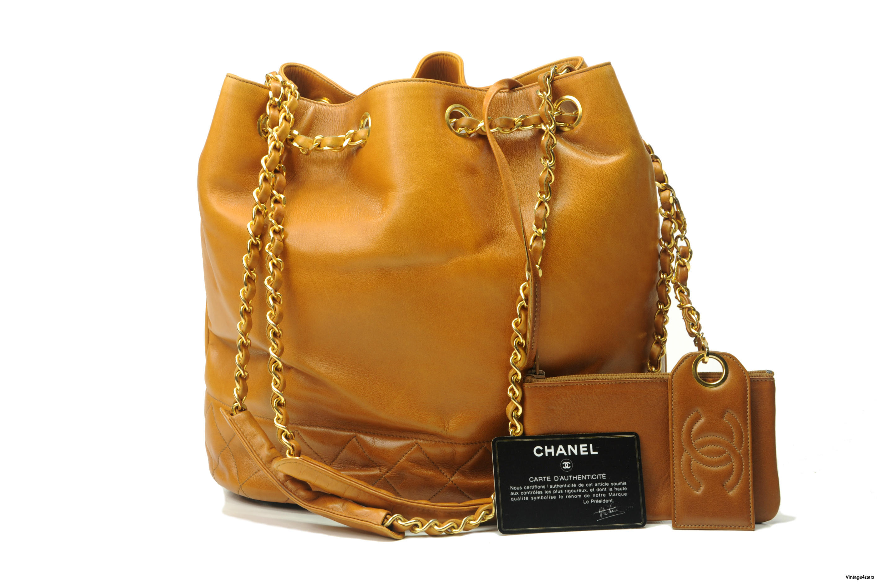 CHANEL Drawstring Shoulder bag 1