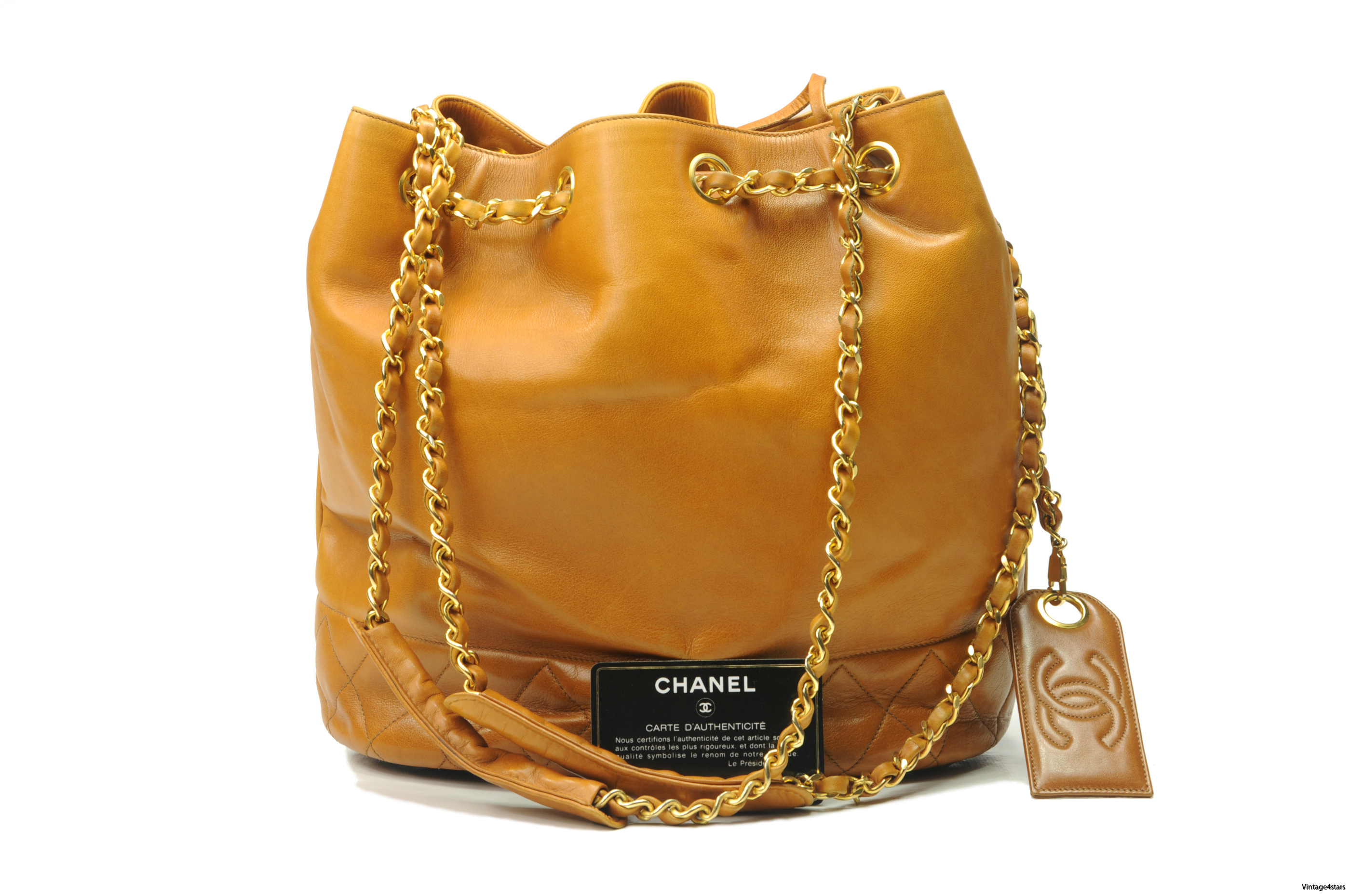 CHANEL Drawstring Shoulder bag 2