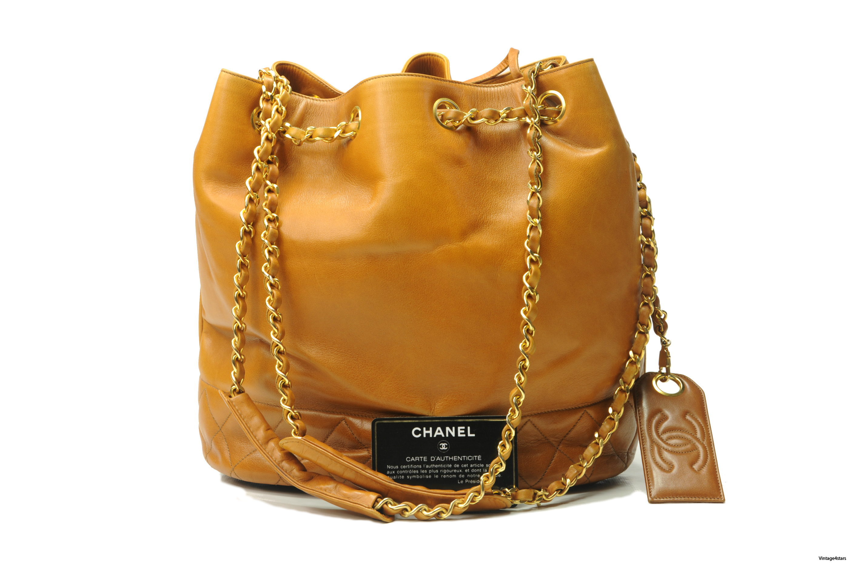 CHANEL Drawstring Shoulder bag 3
