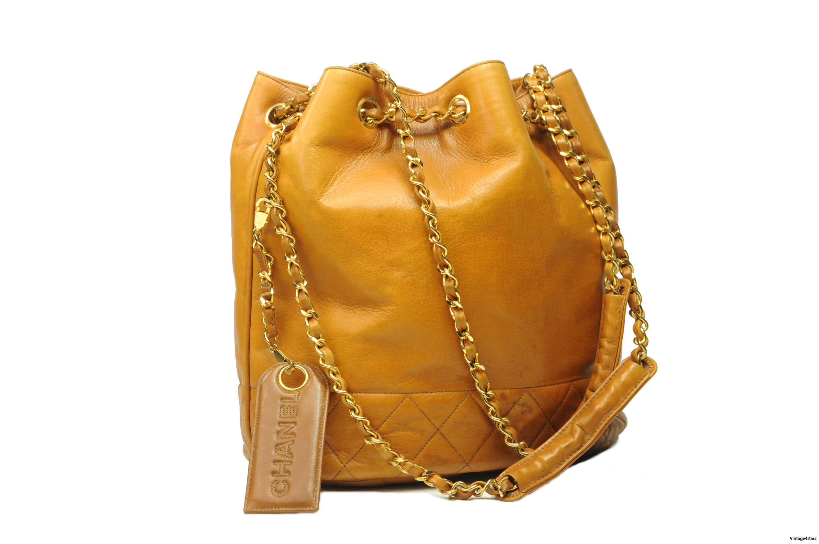 CHANEL Drawstring Shoulder bag 7