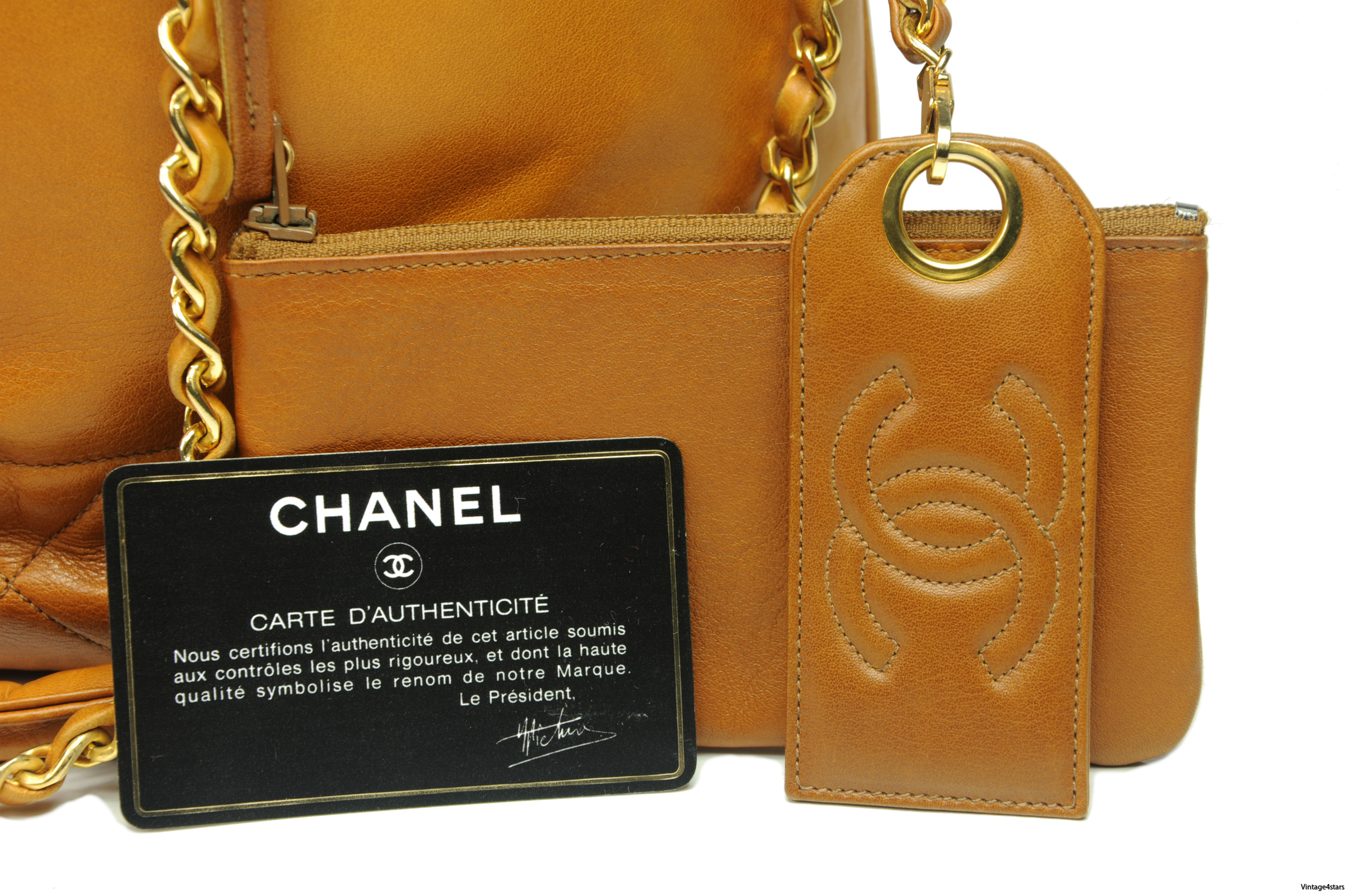 CHANEL Drawstring Shoulder bag 5
