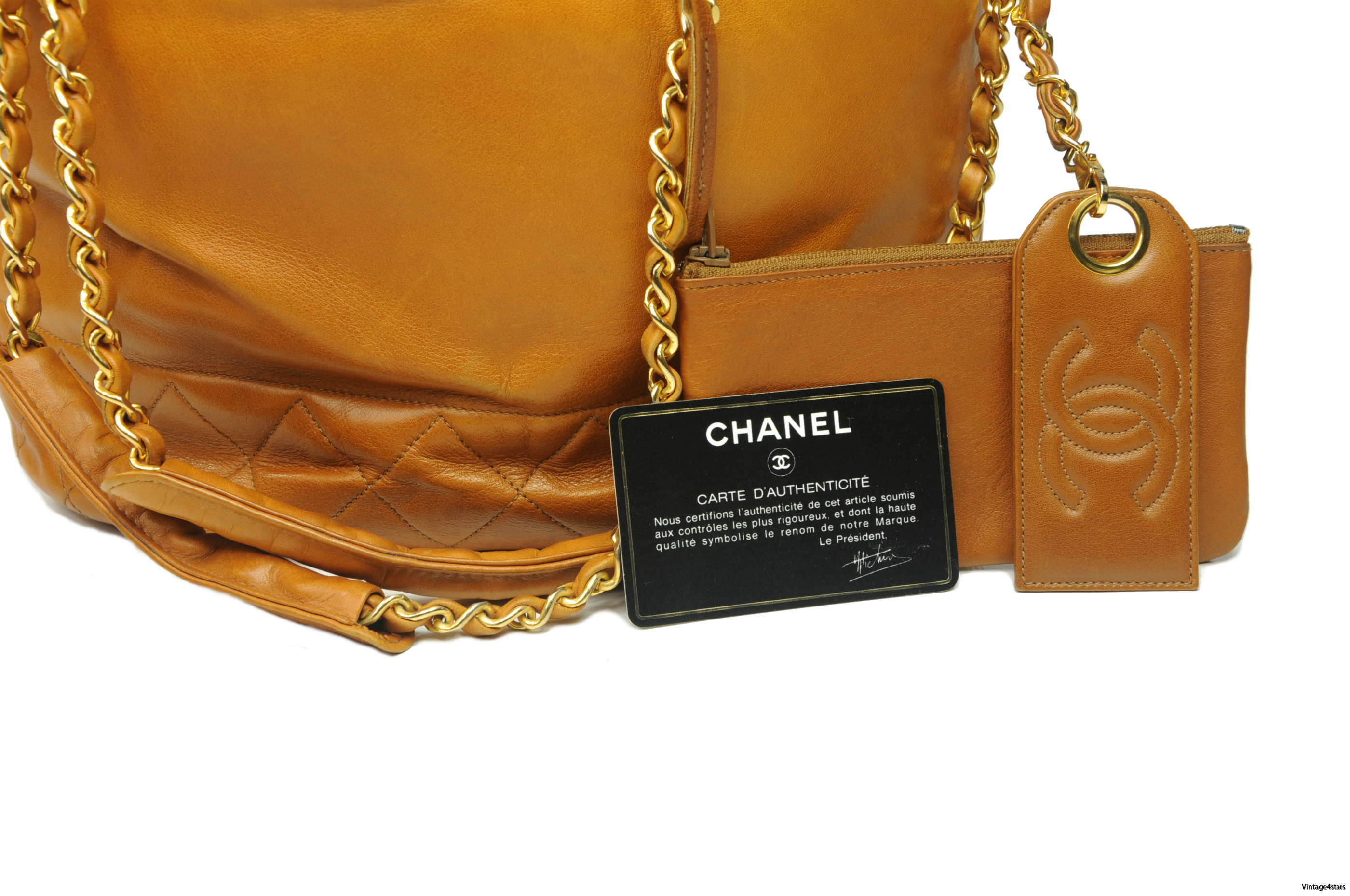 CHANEL Drawstring Shoulder bag 6
