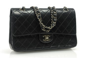 CHANEL Double Flap SHW