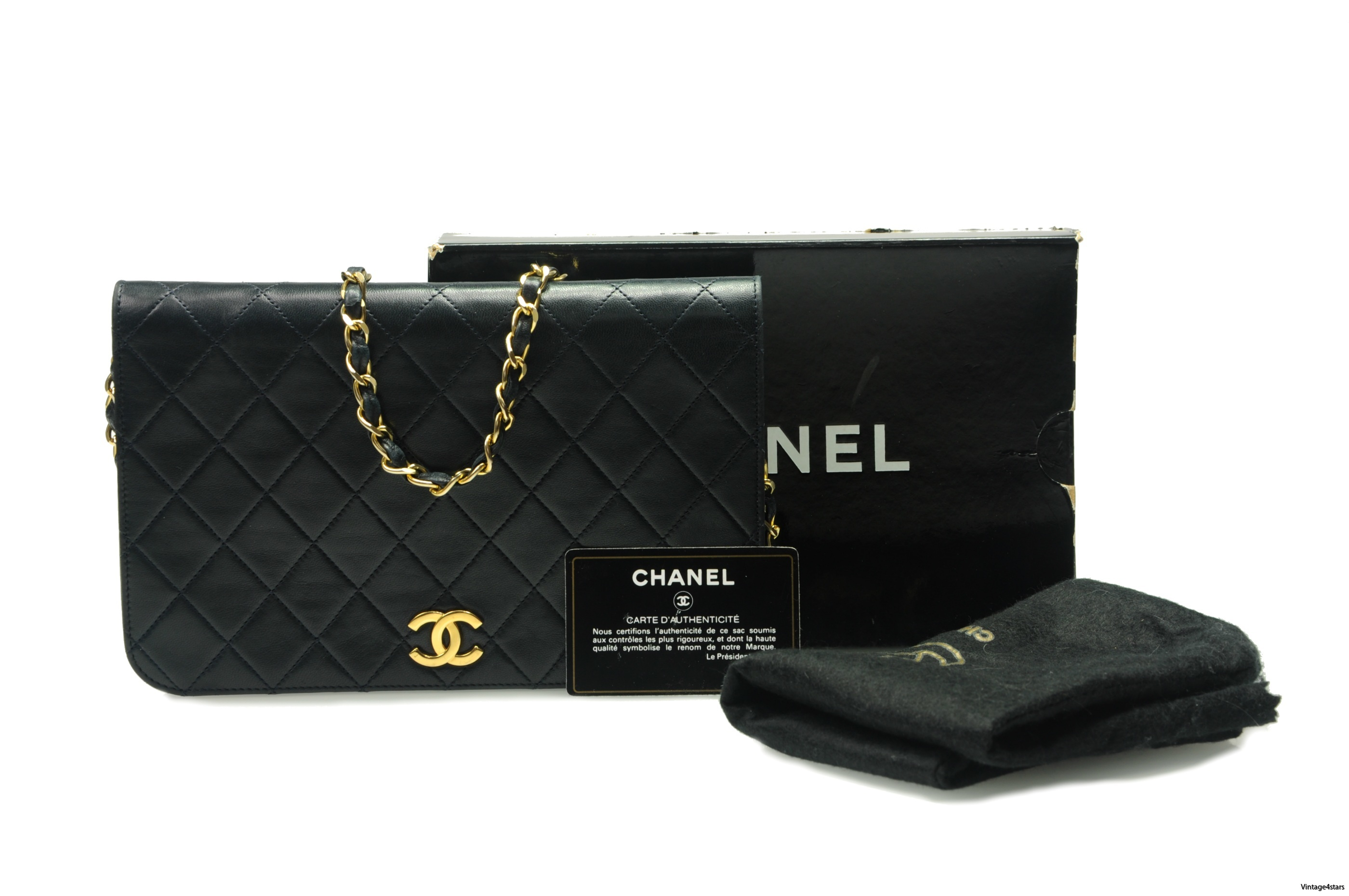 CHANEL Single Flap Full 01