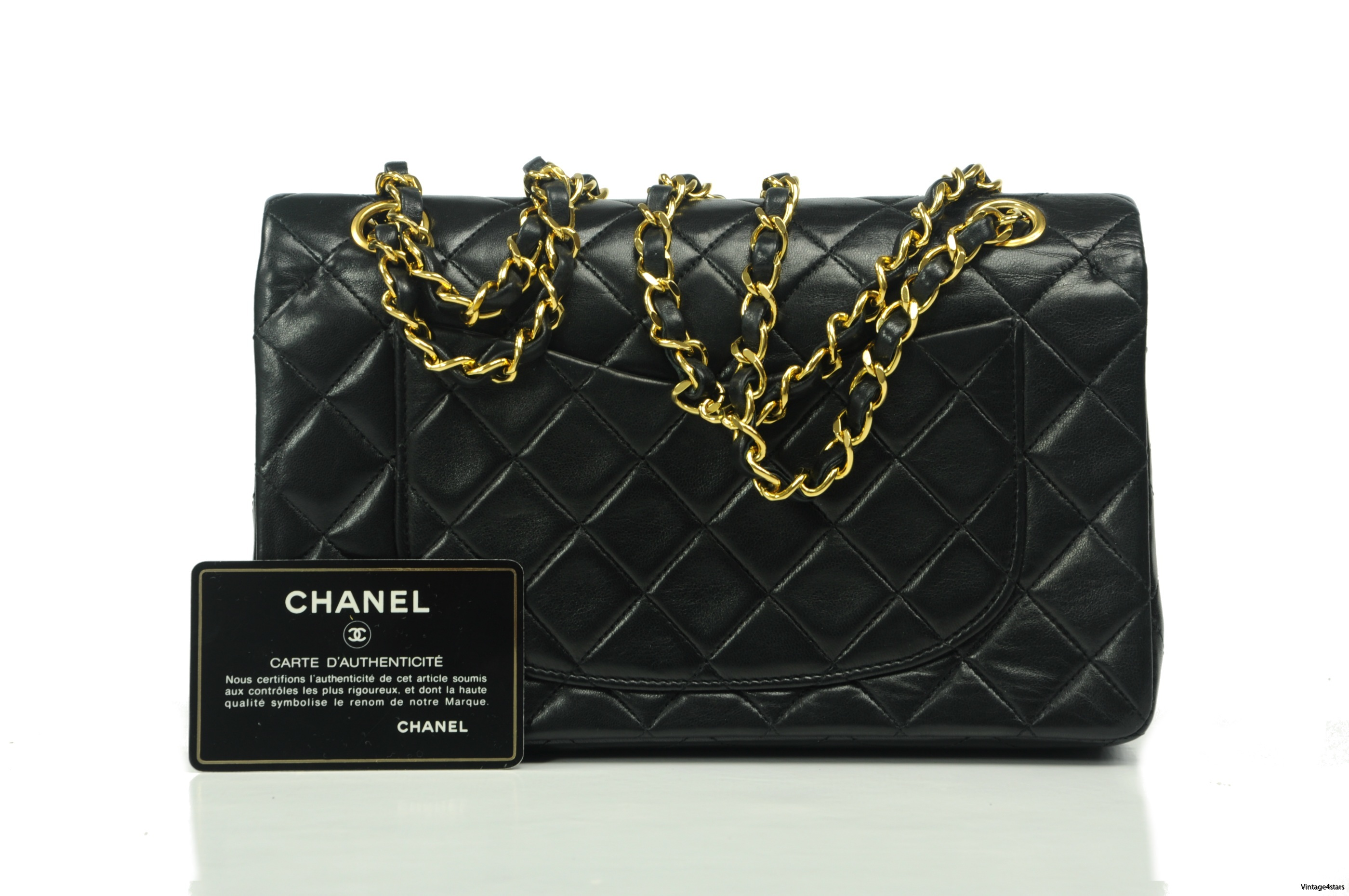 Chanel Double Flap Small 203