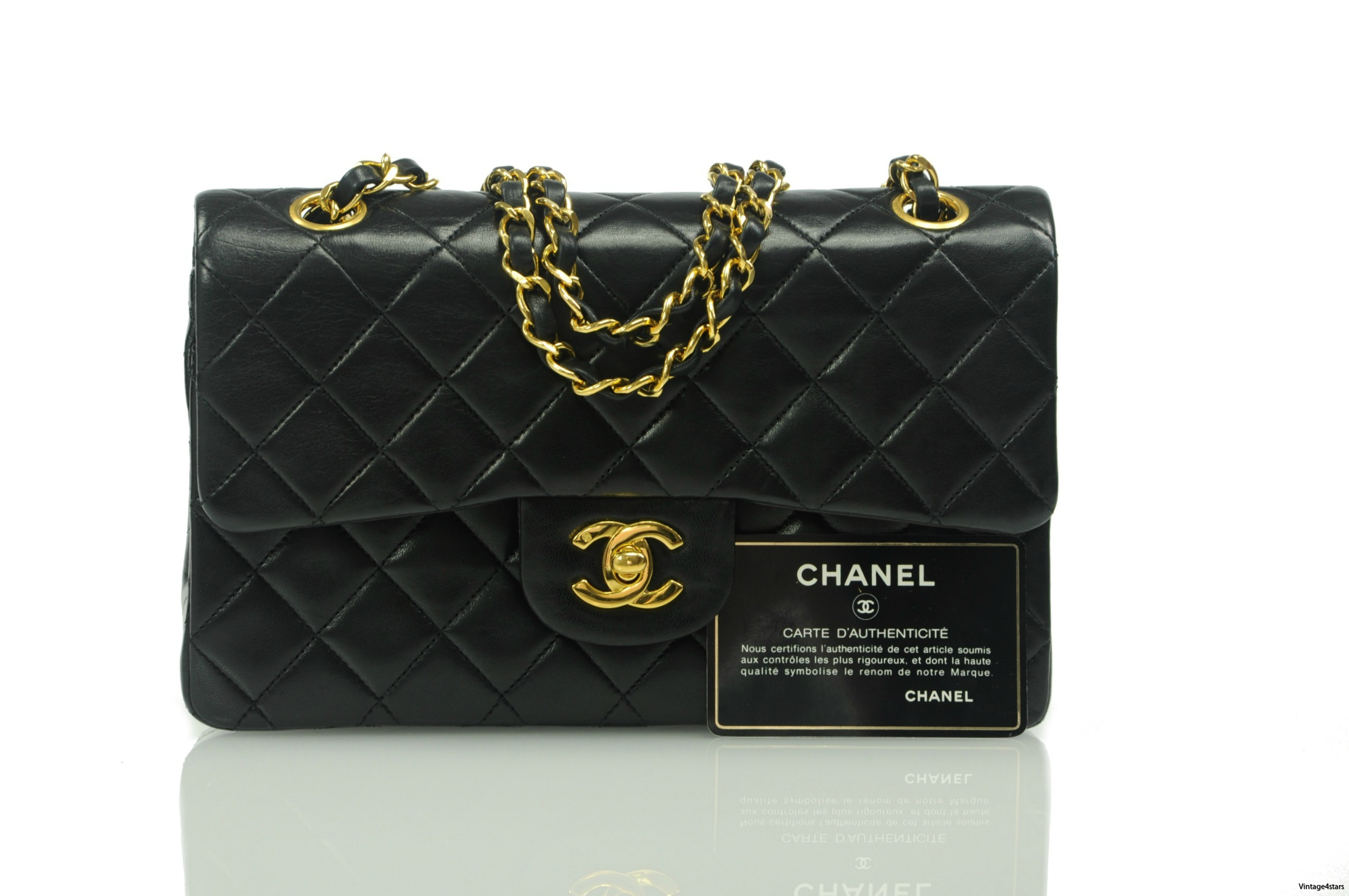 Chanel Double Flap Small 219