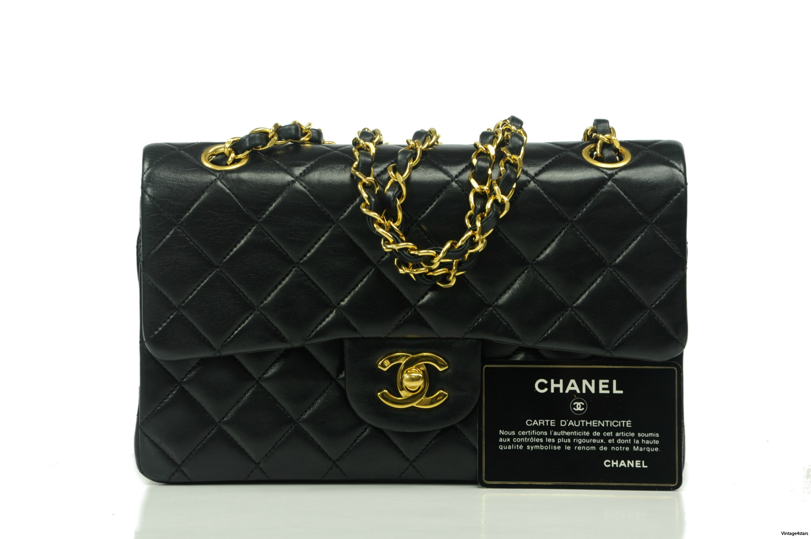 Chanel Double Flap Small 202
