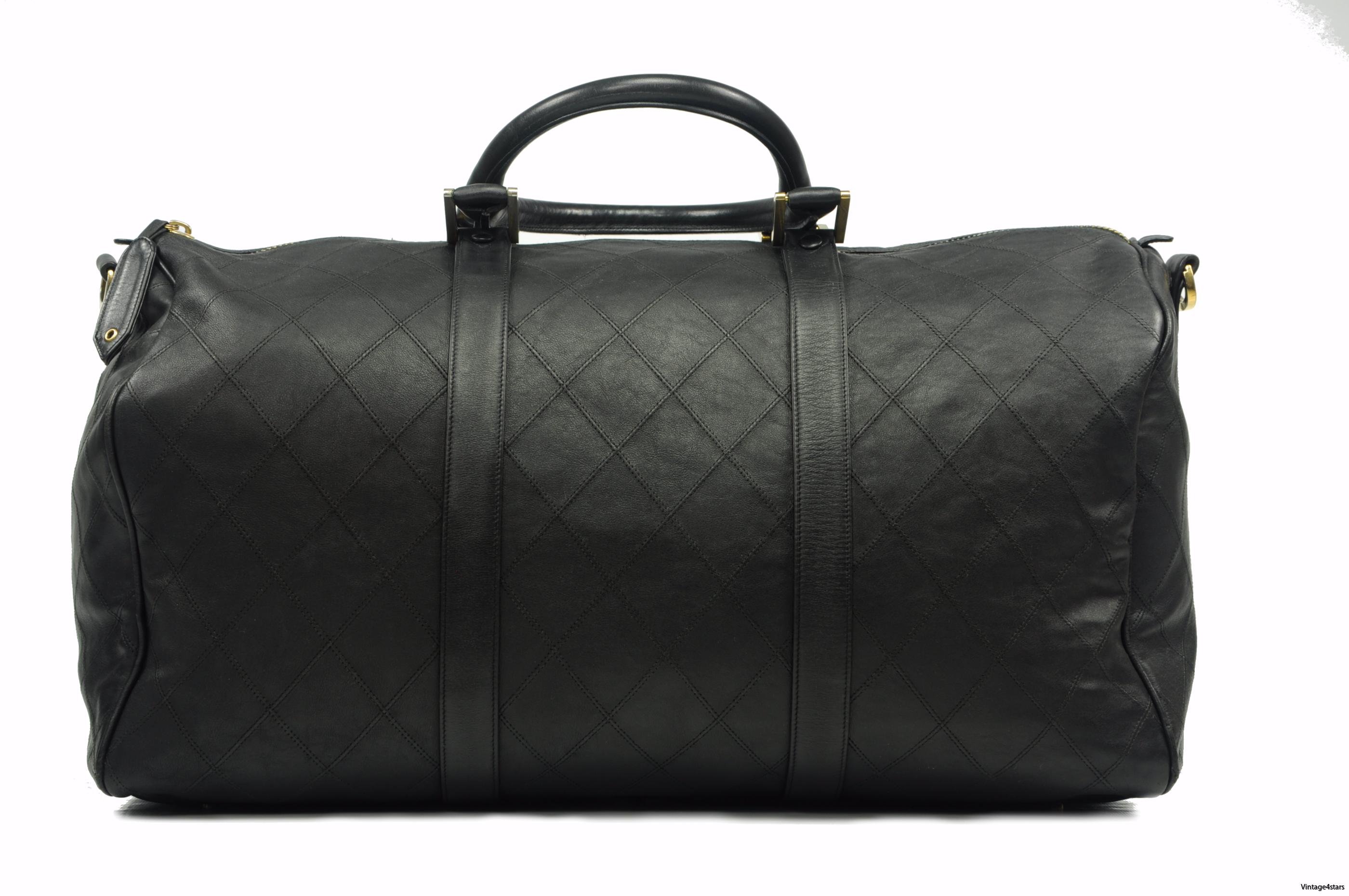 CHANEL Duffle Bag Calfskin 1