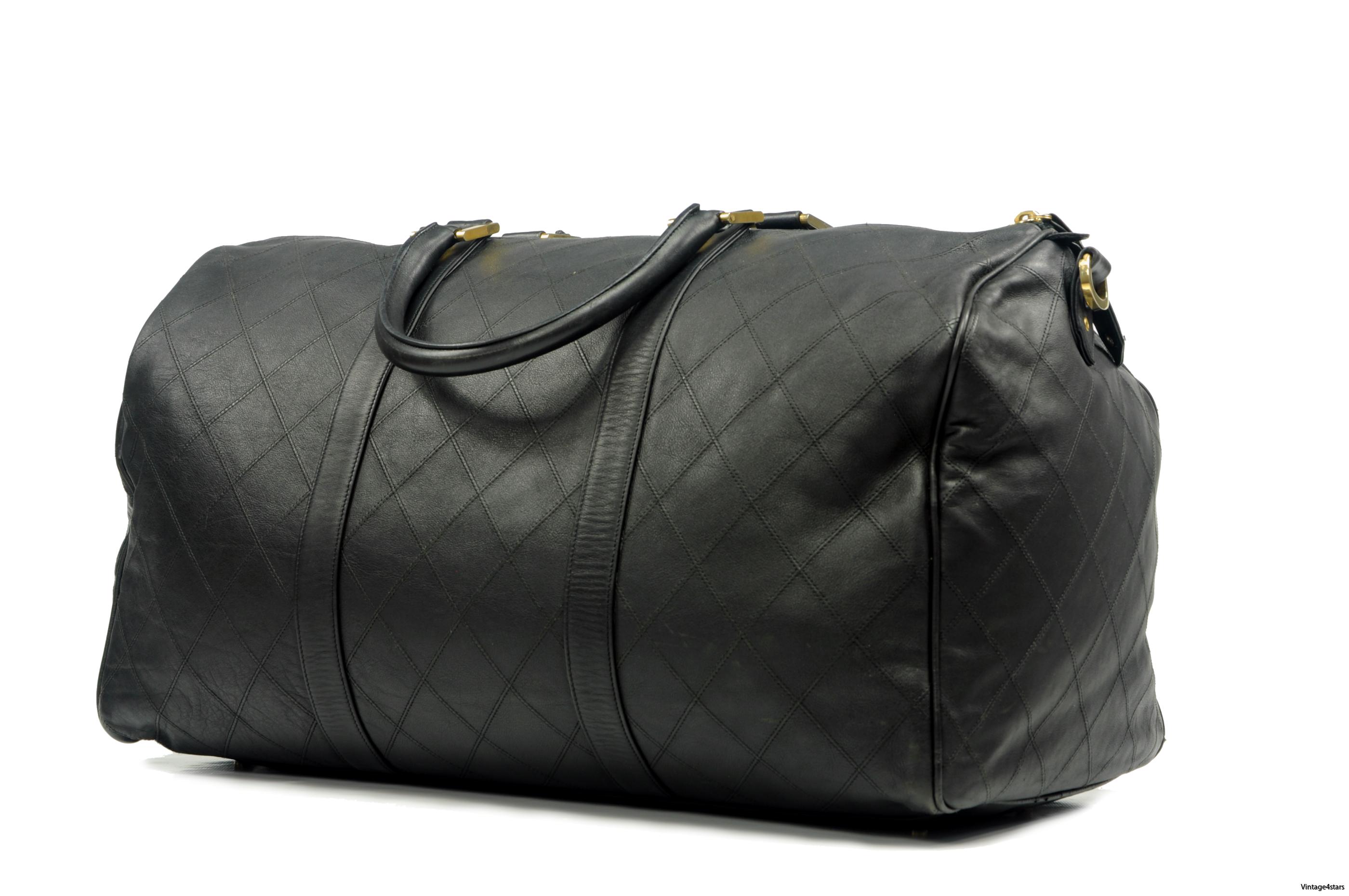 CHANEL Duffle Bag Calfskin 2
