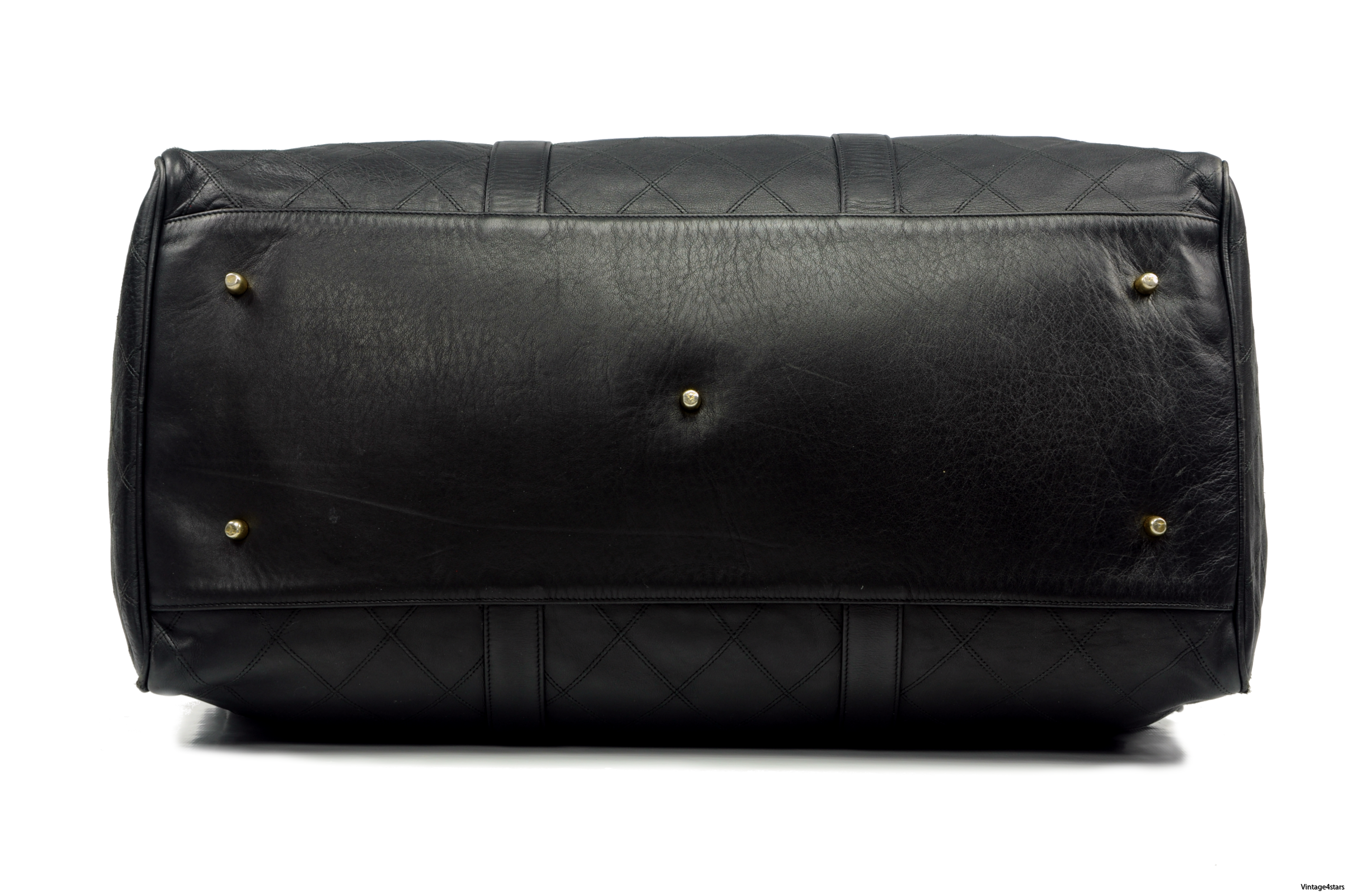 CHANEL Duffle Bag Calfskin 5