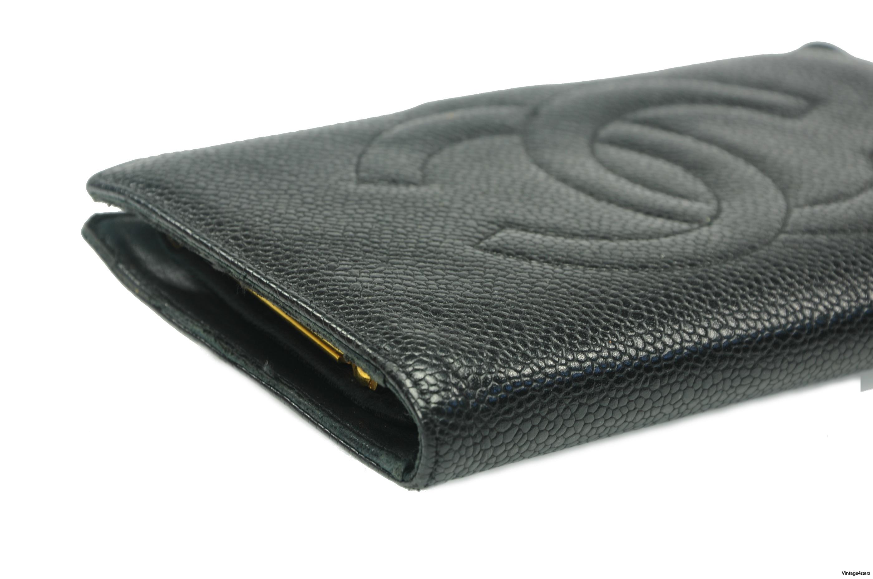 CHANEL Wallet Caviar 6
