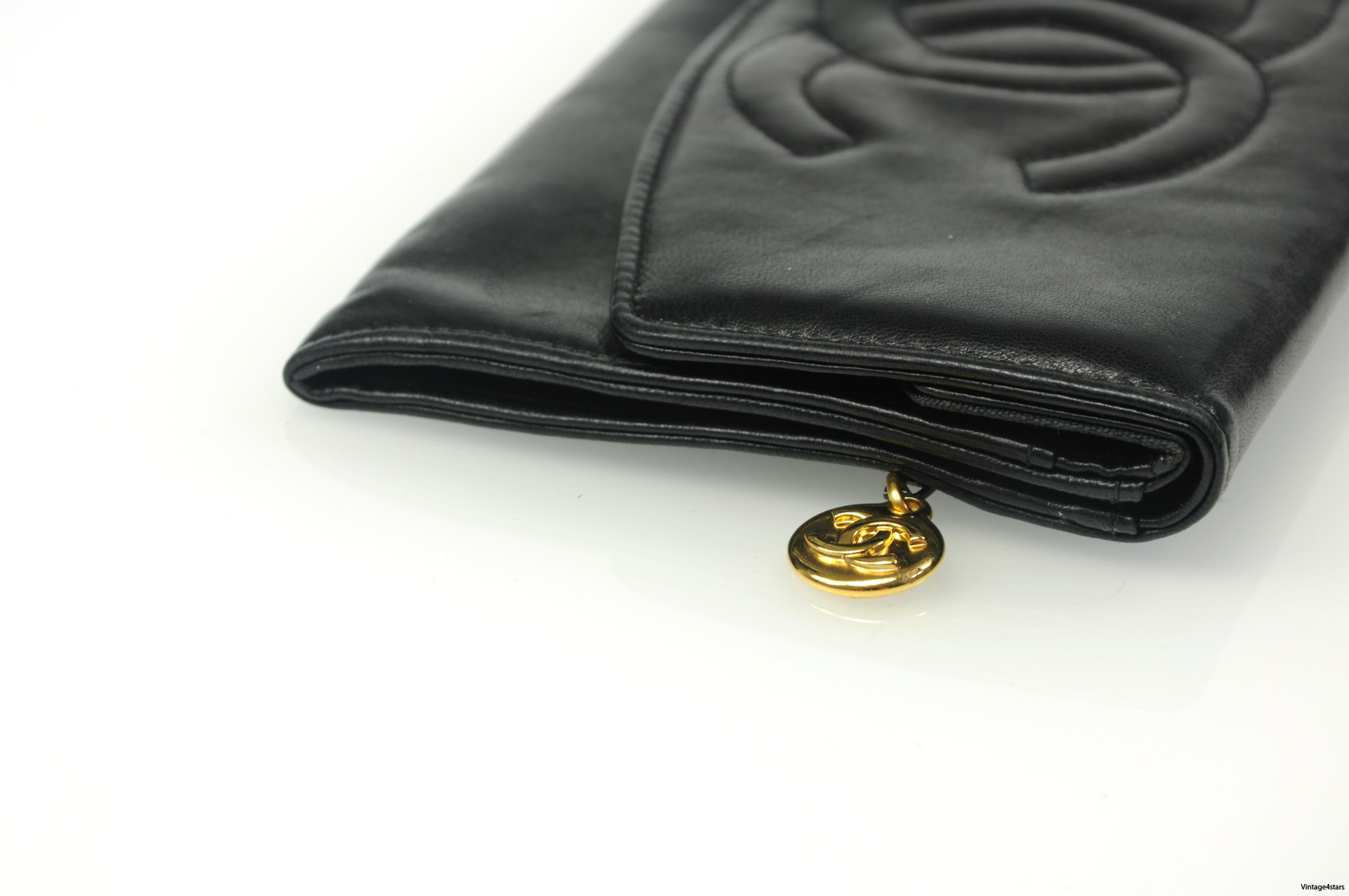 CHANEL Long wallet 25