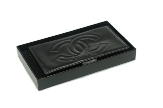 CHANEL Wallet Purse Lambskin - CHANEL Wallet Purse Lambskin