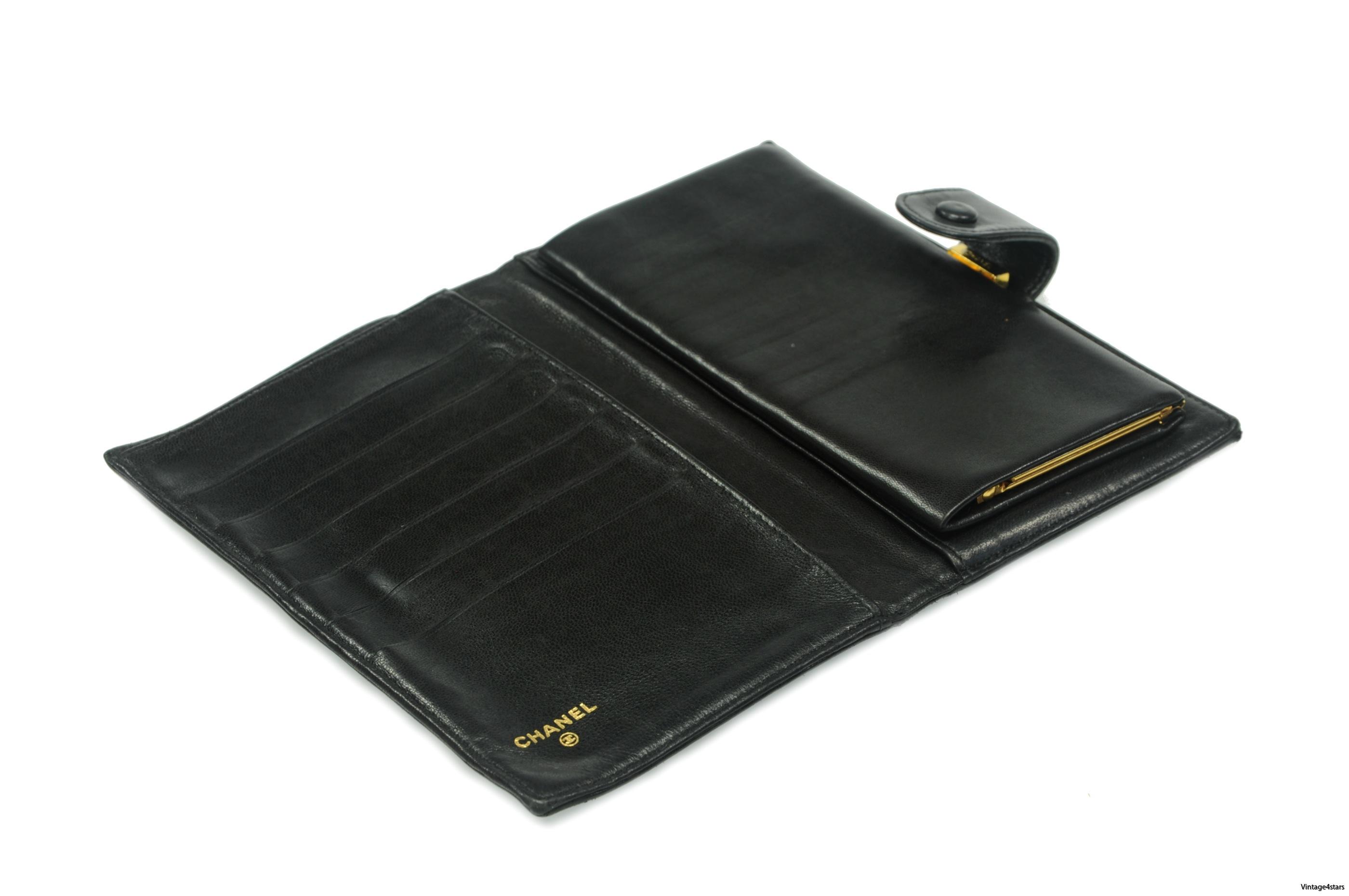CHANEL Wallet Lambskin 25