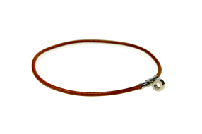 HERMÈS Choker Necklace Palladium