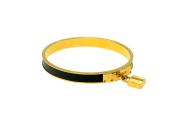 HERMÈS Kelly Bracelet Gold/Lizard