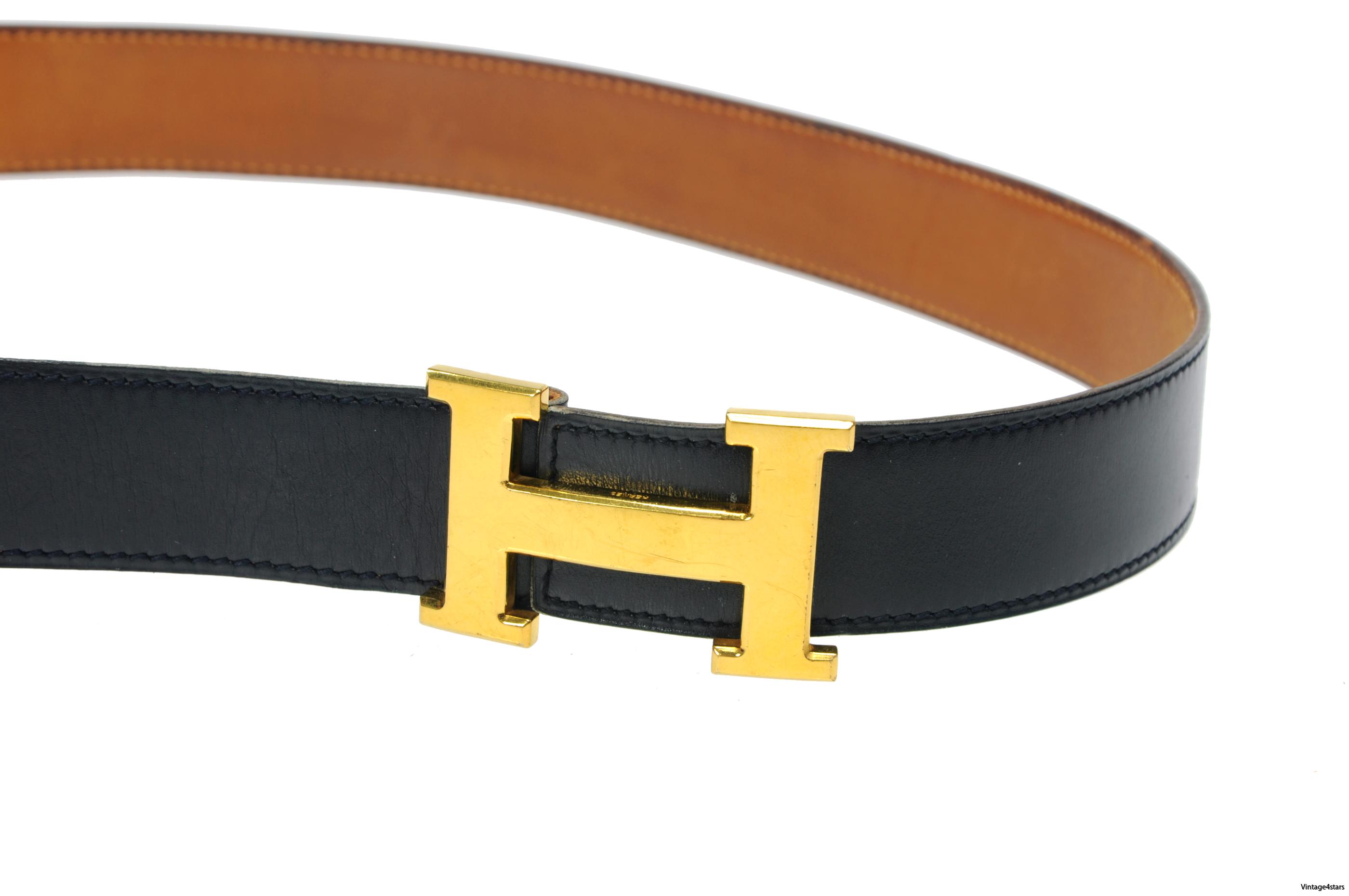 HERMÈS H Belt 24