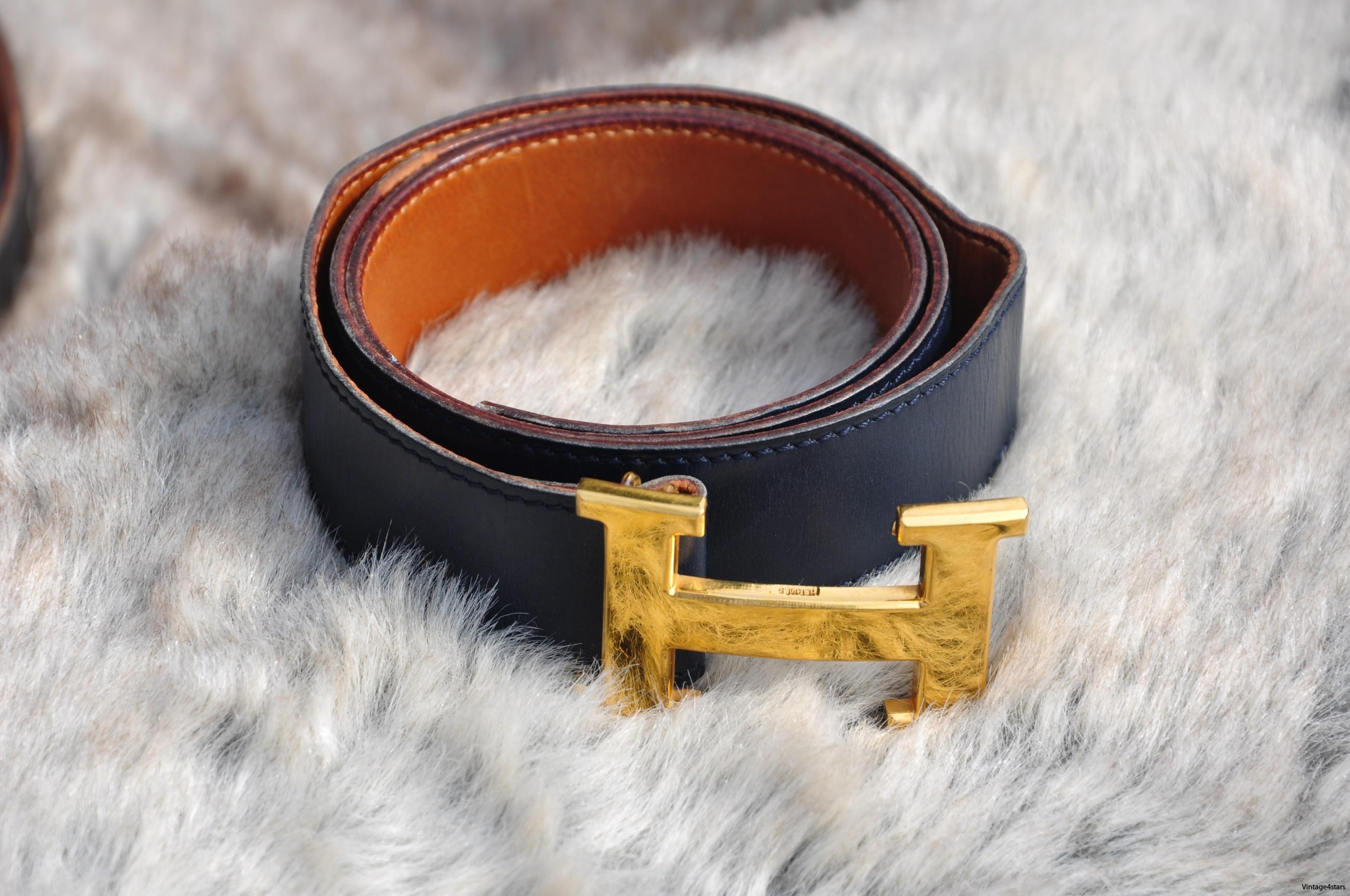 HERMÈS H Belt 25