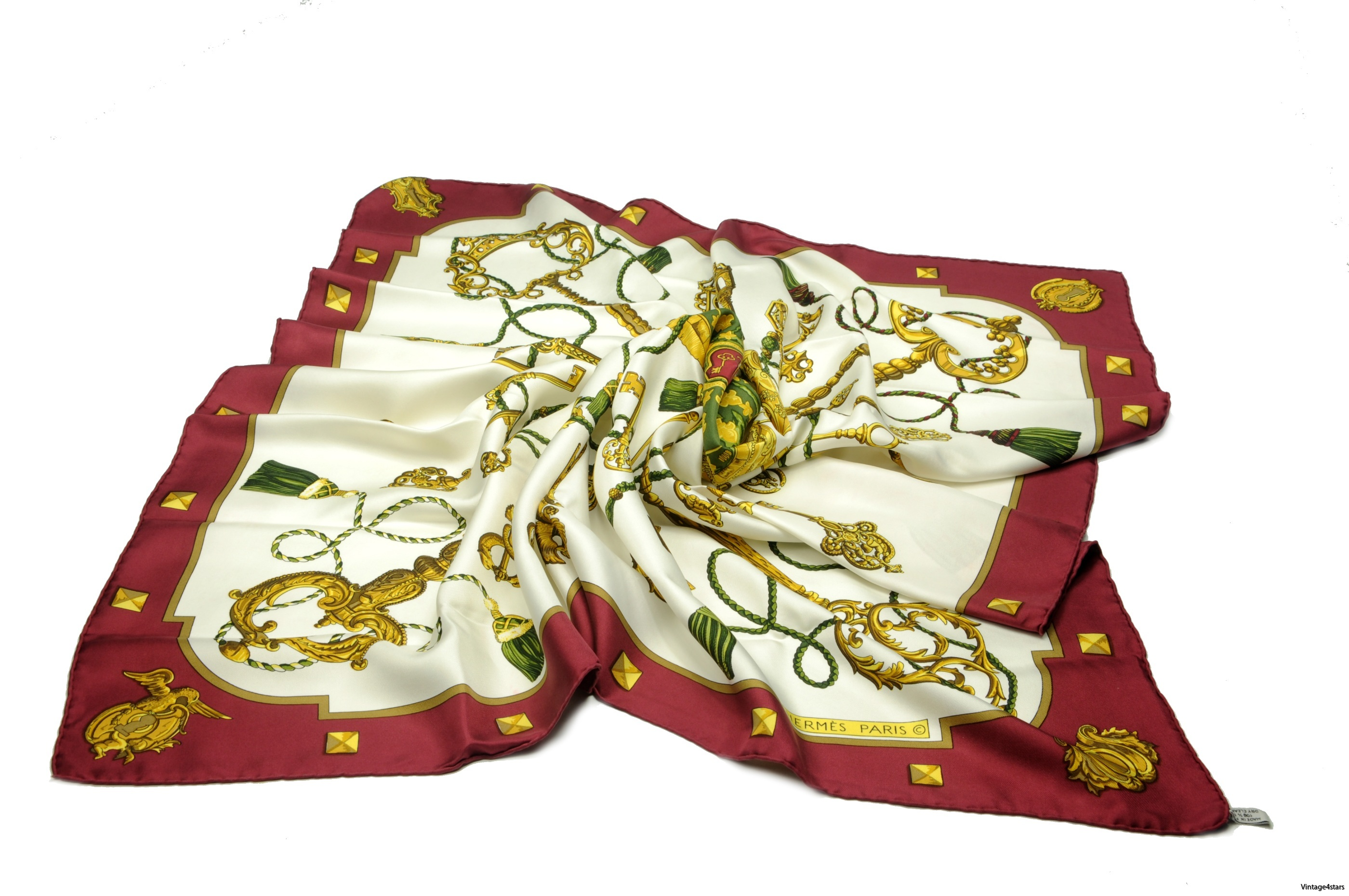 HERMES Scarf silk 1