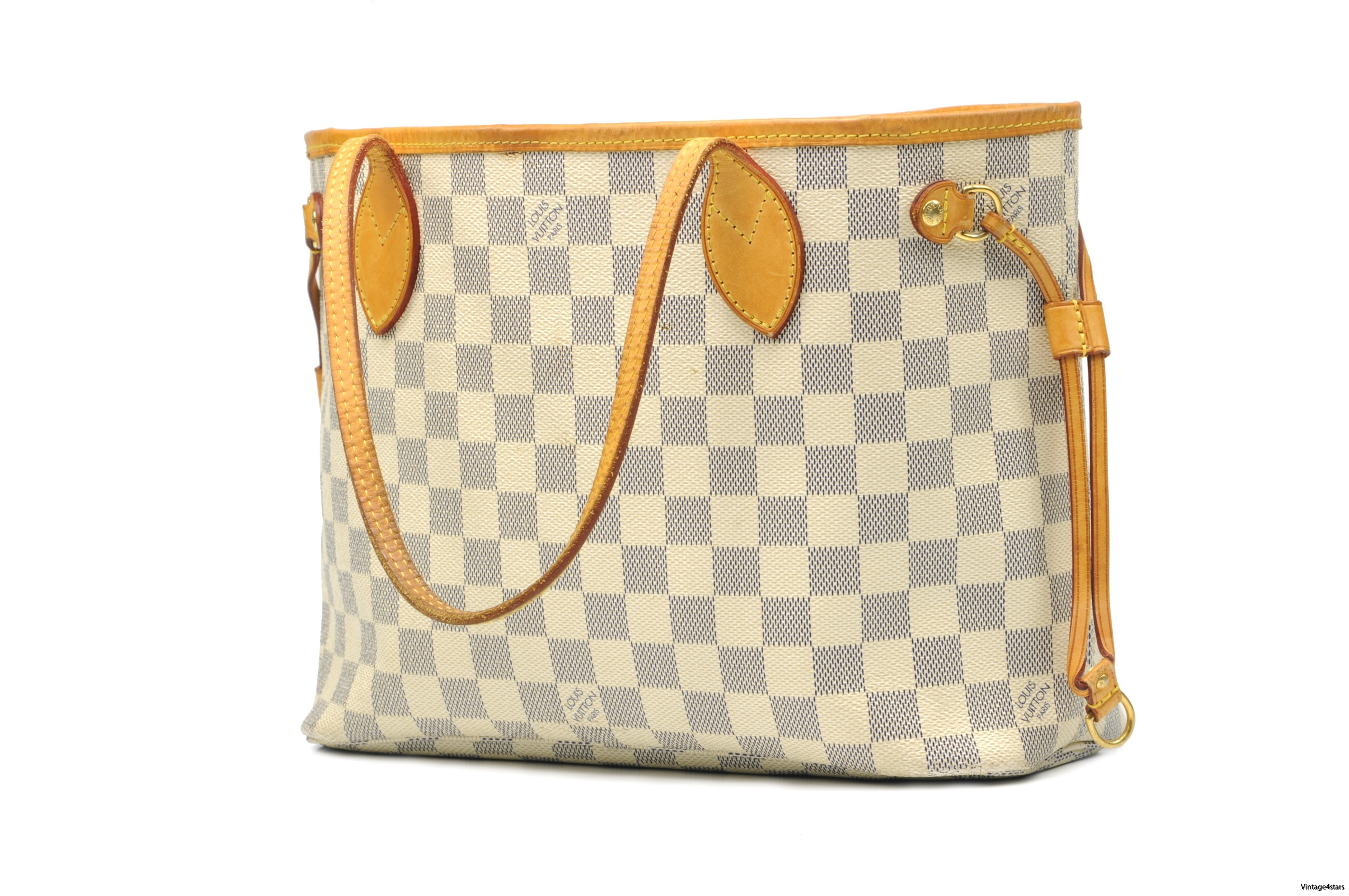 Louis Vuitton Neverfull PM Damier Azur 02