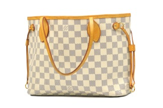 Louis Vuitton Neverfull PM Damier Azur - Louis Vuitton Neverfull PM Damier Azur