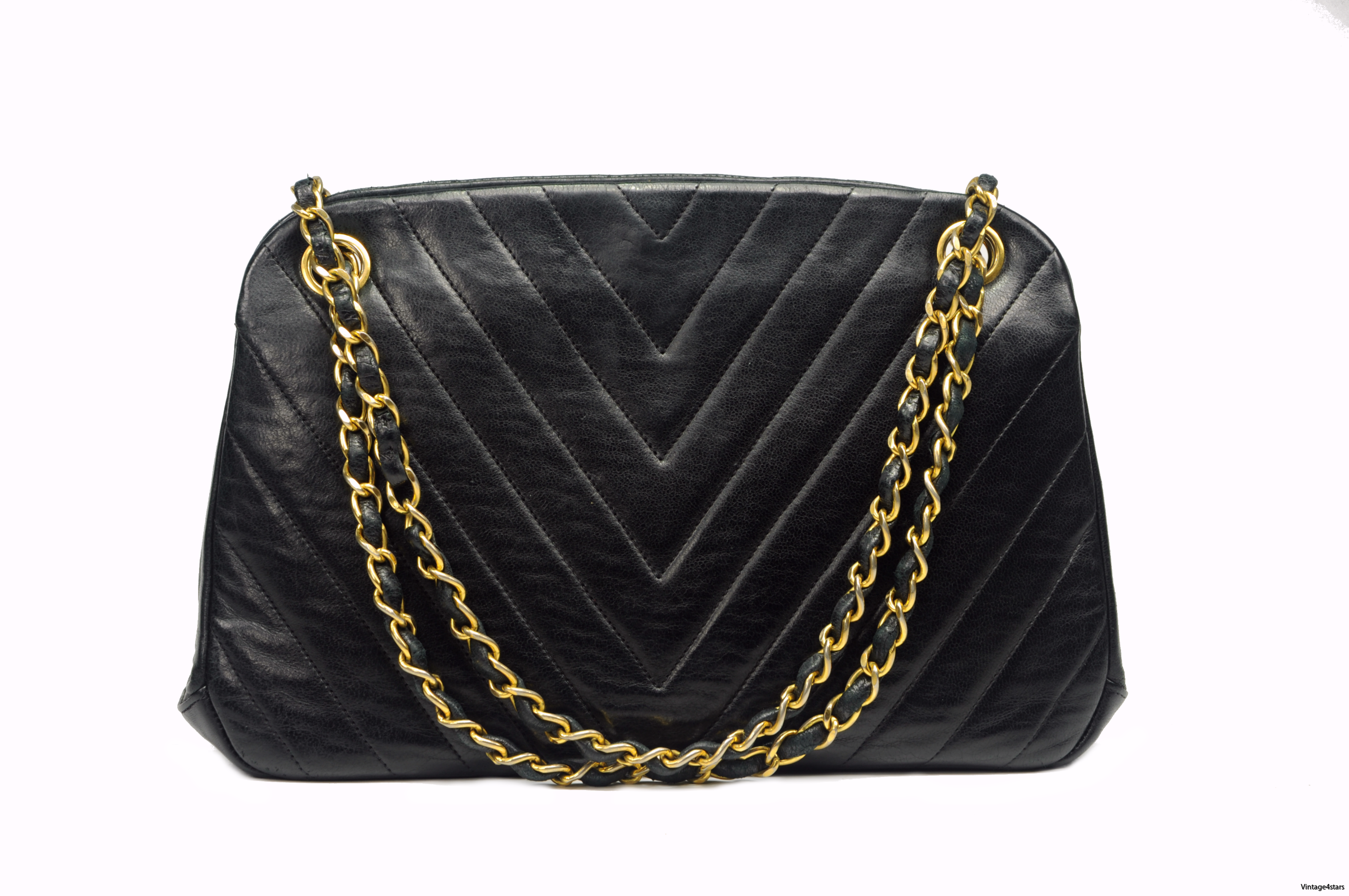 CHANEL Lambskin Kisslock 100