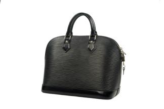 Louis Vuitton Alma PM Epi - Louis Vuitton Alma PM Epi Black