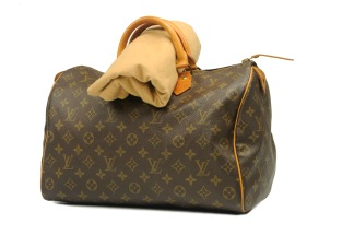 Louis Vuitton Speedy 35 Monogram - Louis Vuitton Speedy 35 Monogram