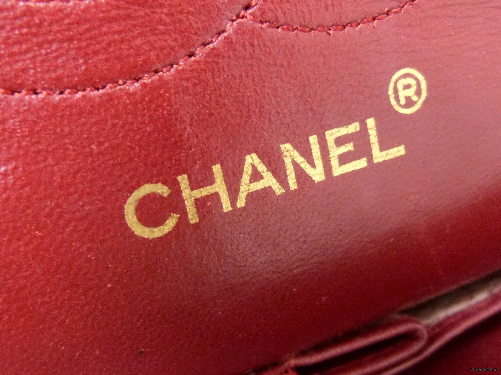 CHANEL Double Flap red 12