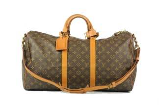 Louis Vuitton Keepall 50 Bandoulière Monogram