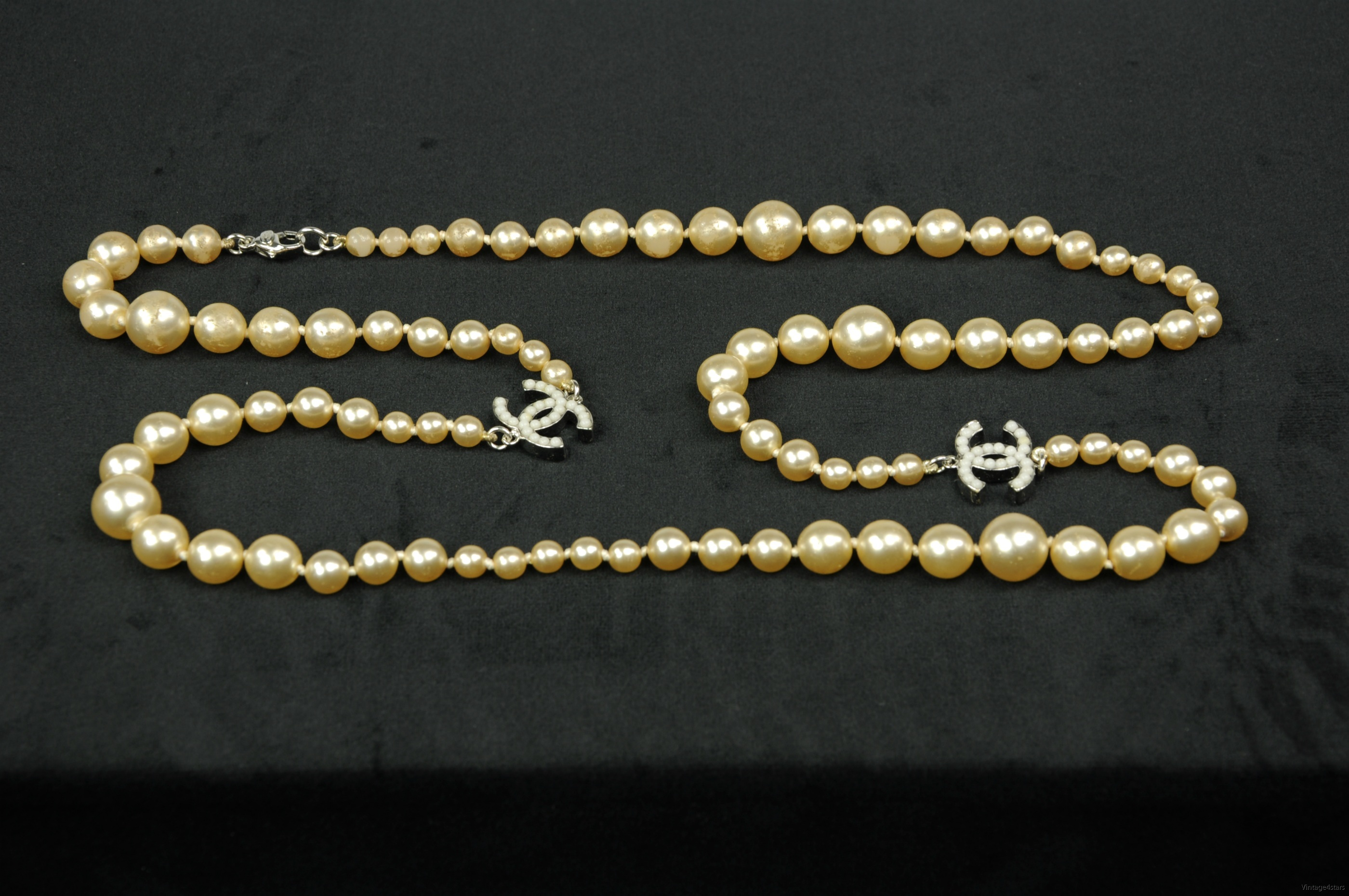 CHANEL Pearl necklace 1b