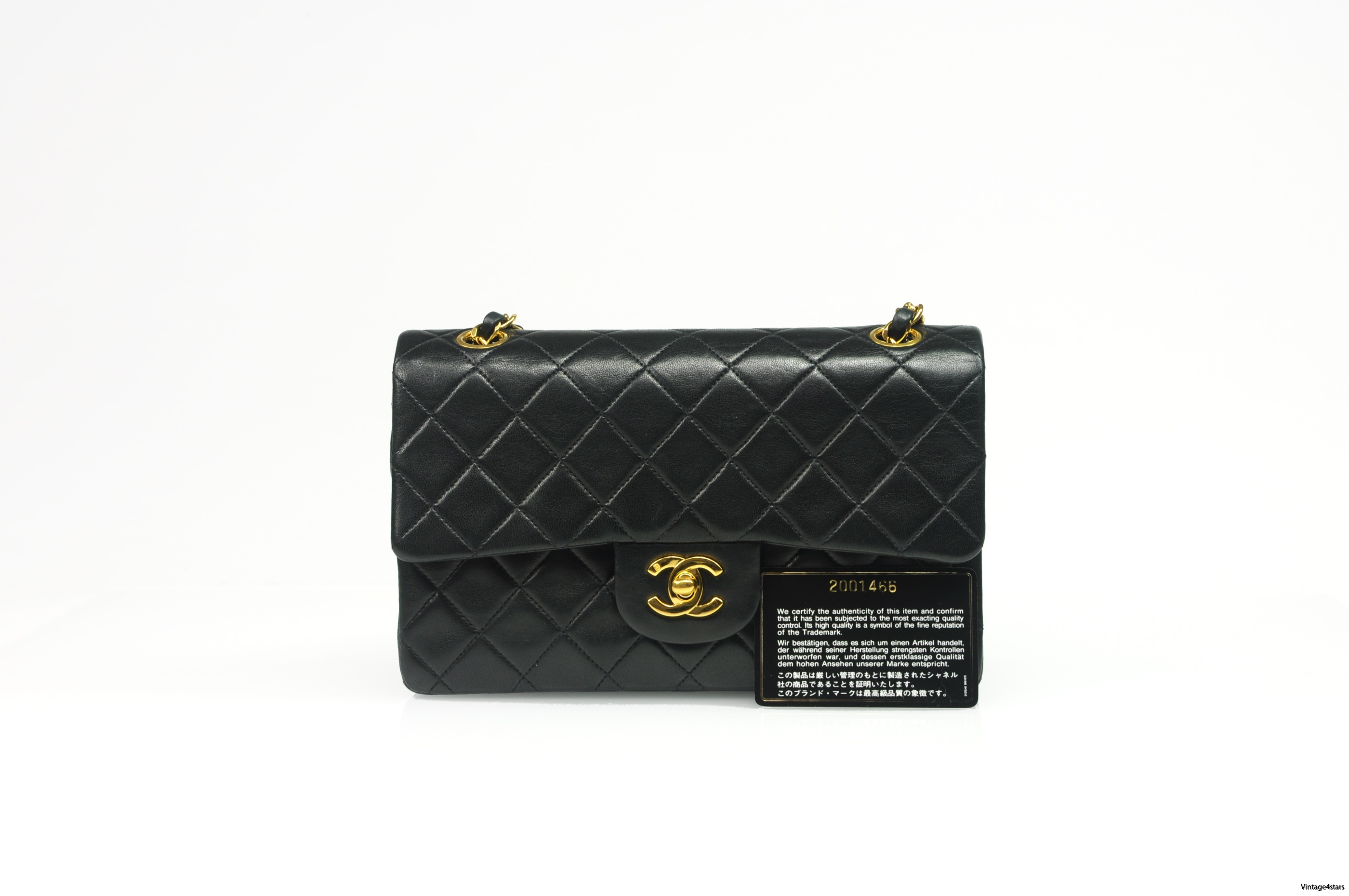CHANEL Double Flap Small 36
