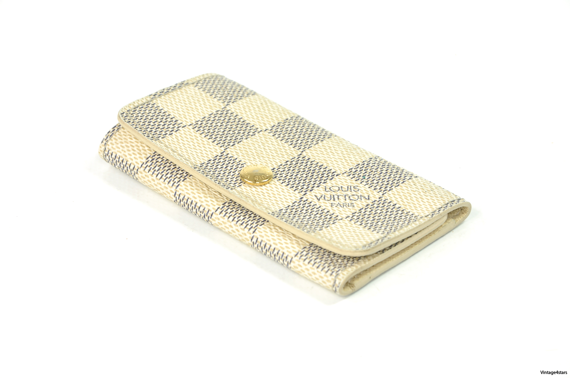 Louis Vuitton 4 Keys Damier Azur 1