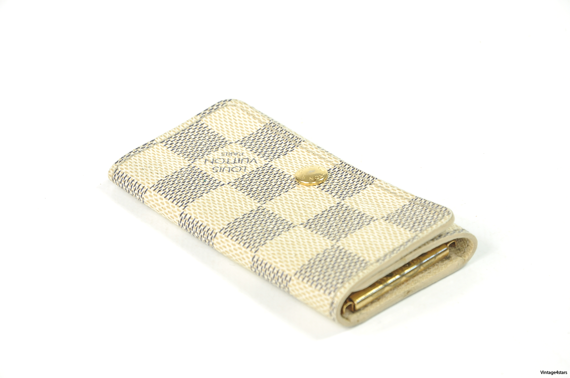 Louis Vuitton 4 Keys Damier Azur 2
