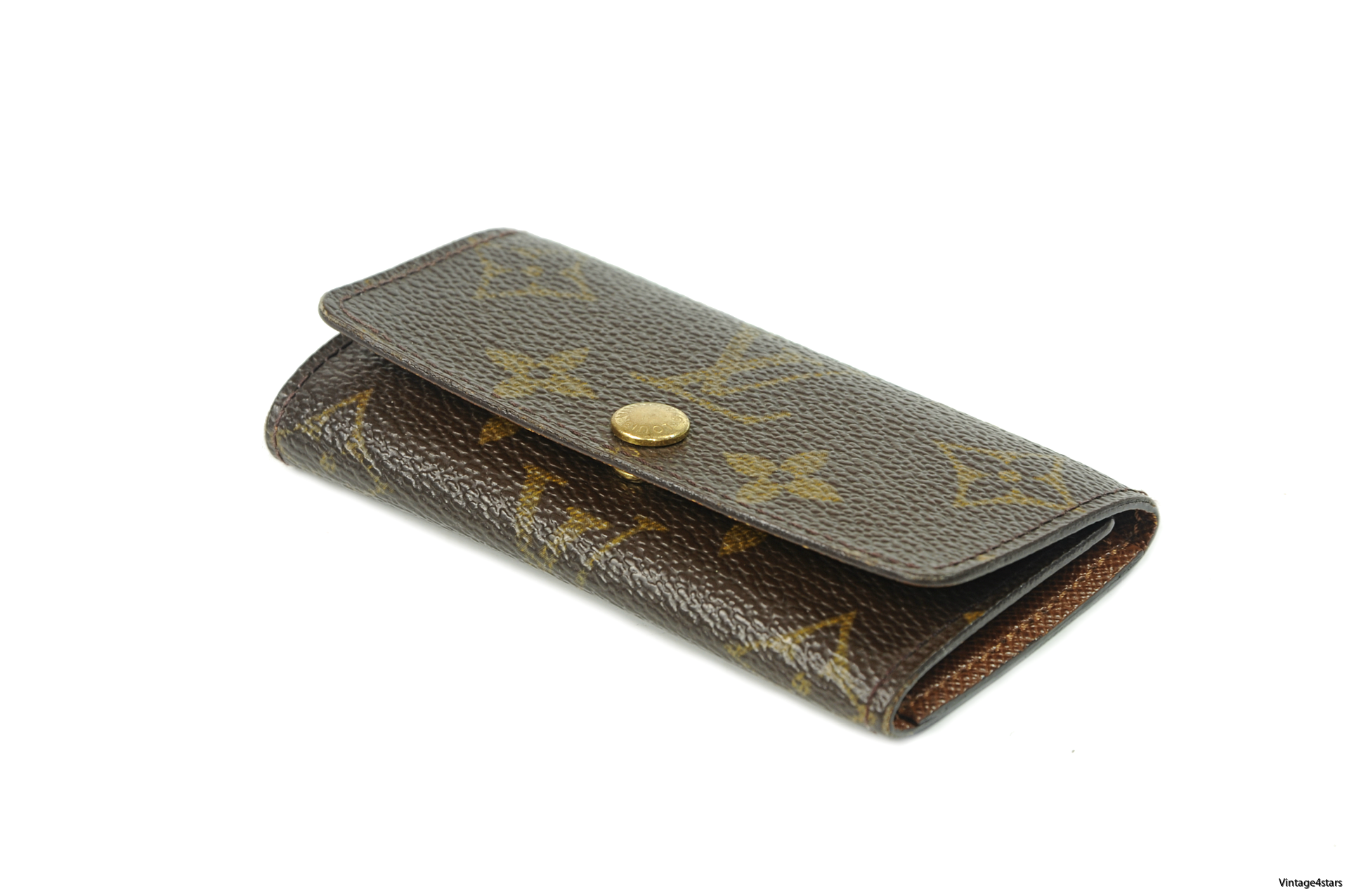 Louis Vuitton 4 Key Holder Monogram 1