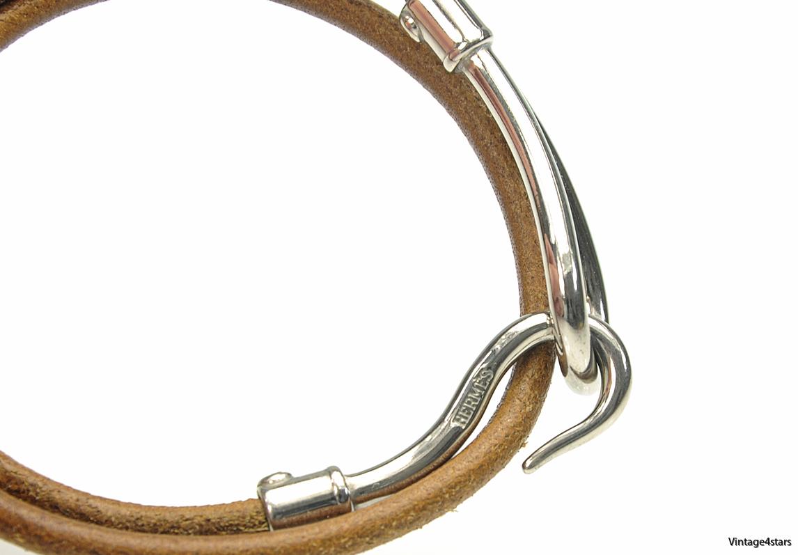 HERMÈS Jumbo Hook Bracelet 4-2