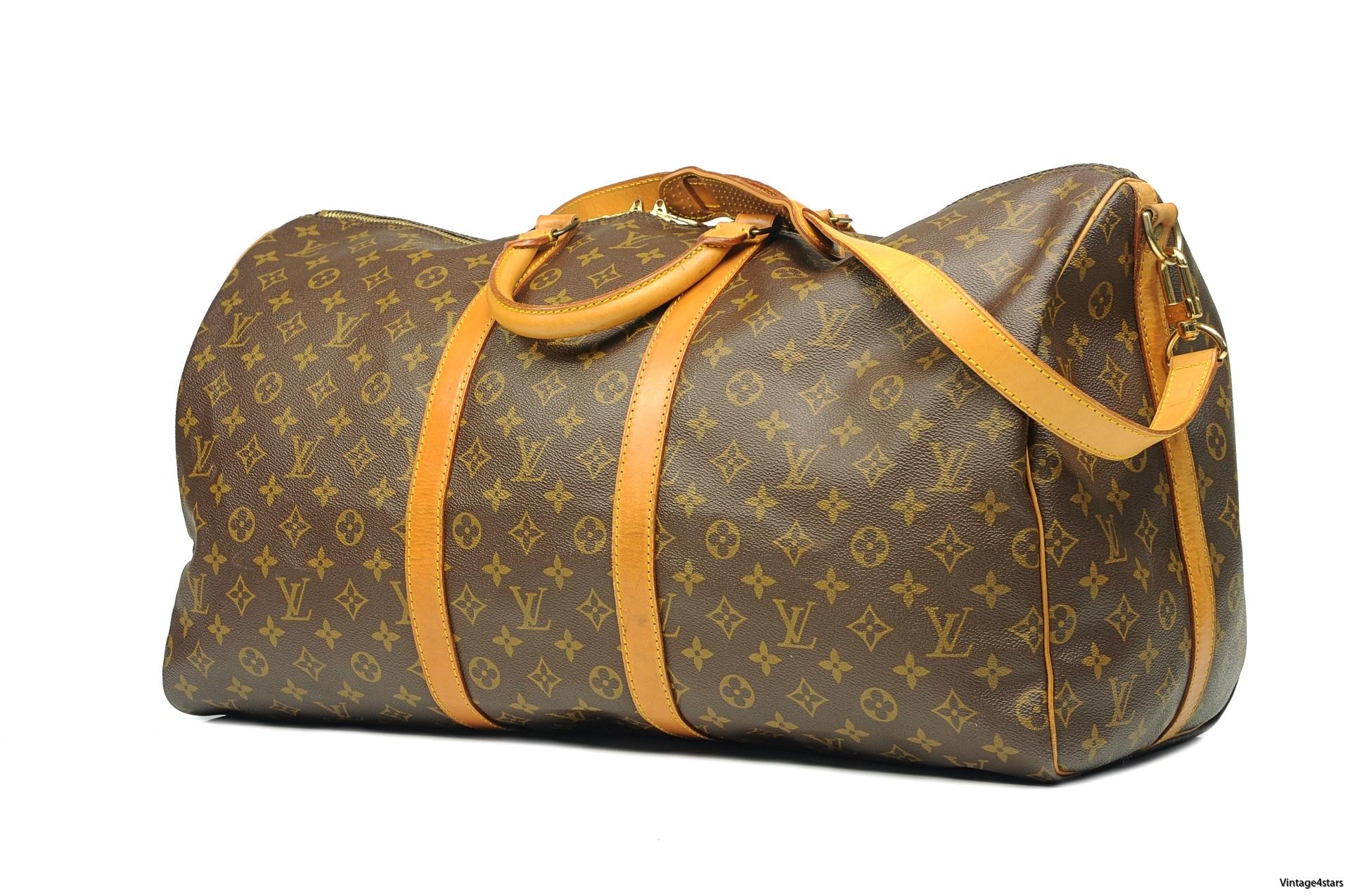 Louis Vuitton Keepall 55 Band 1a-2