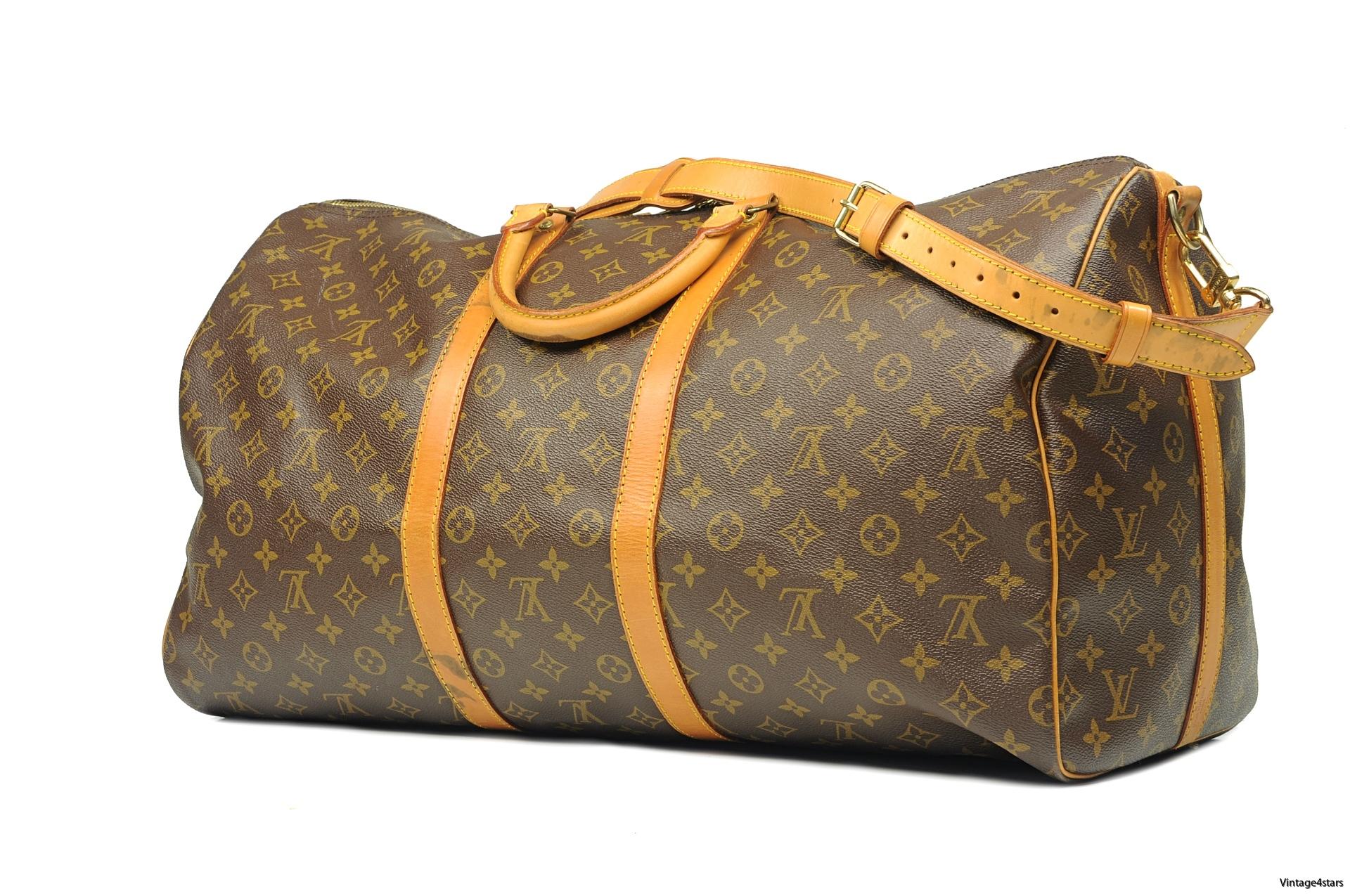 Louis Vuitton Keepall 55 Band 2a-2