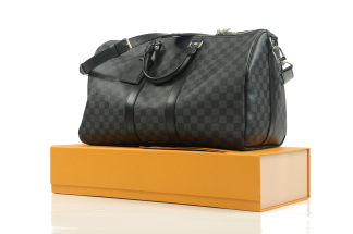 Louis Vuitton Keepall 45 Bandoulière Damier Graphite
